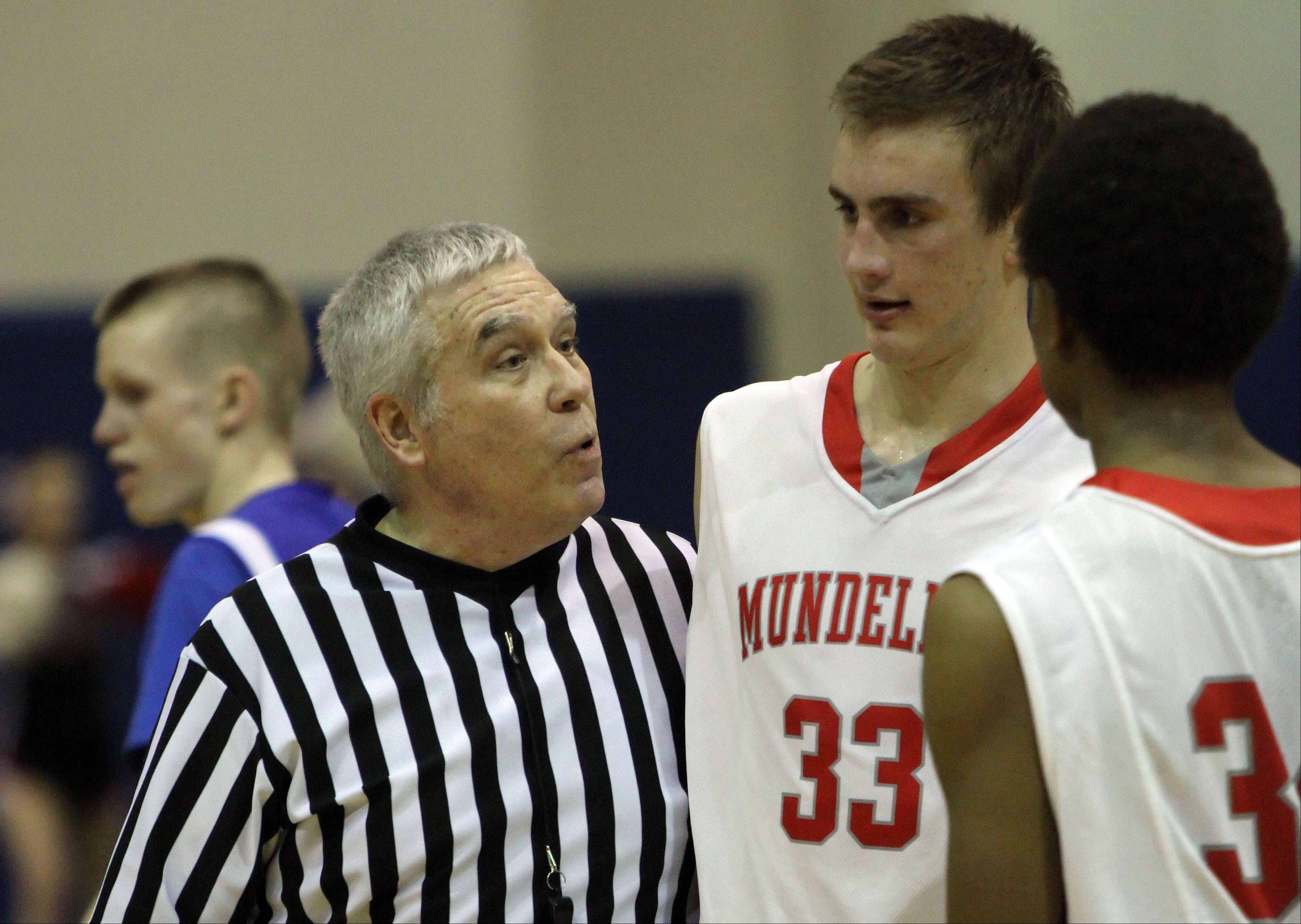 Images from the Mundelein vs. Lake Zurich Class 4A regional semifinal boys basketball game on Wednesday, Feb. 27 in Lake Zurich.