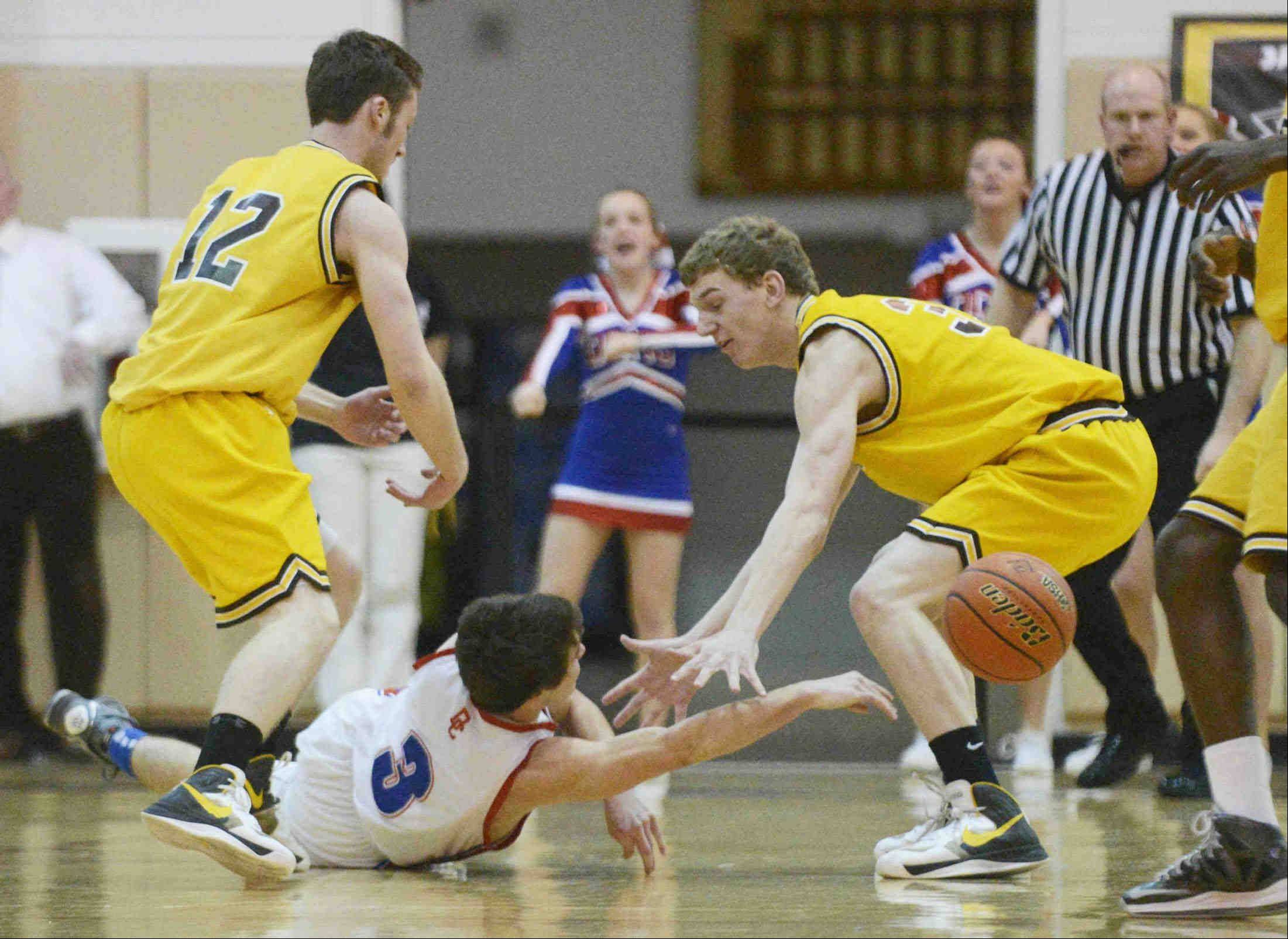 Images from the Dundee-Crown vs. Jacobs Class 4A regional game at Algonquin Wednesday night.