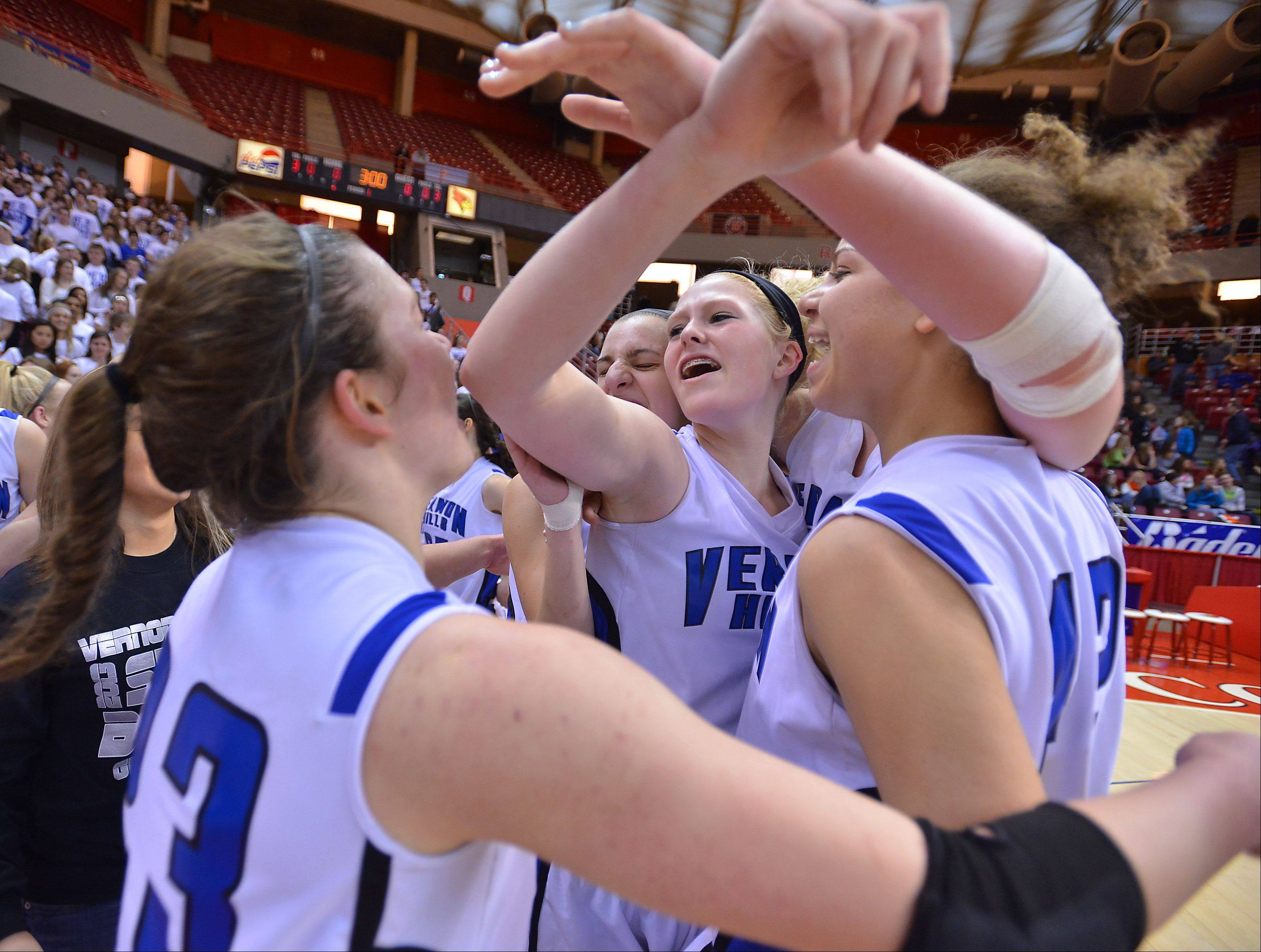 Images: Vernon Hills vs. Montini, girls basketball