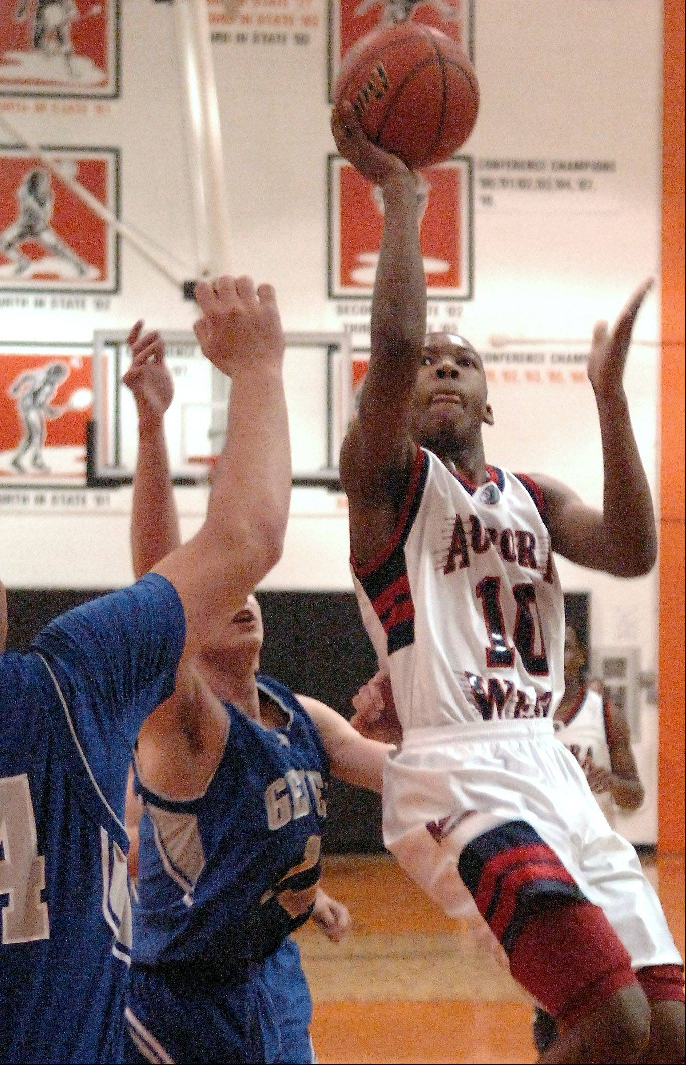 Images from the Geneva vs. West Aurora boys regional basketball final Friday, March 1, 2013.