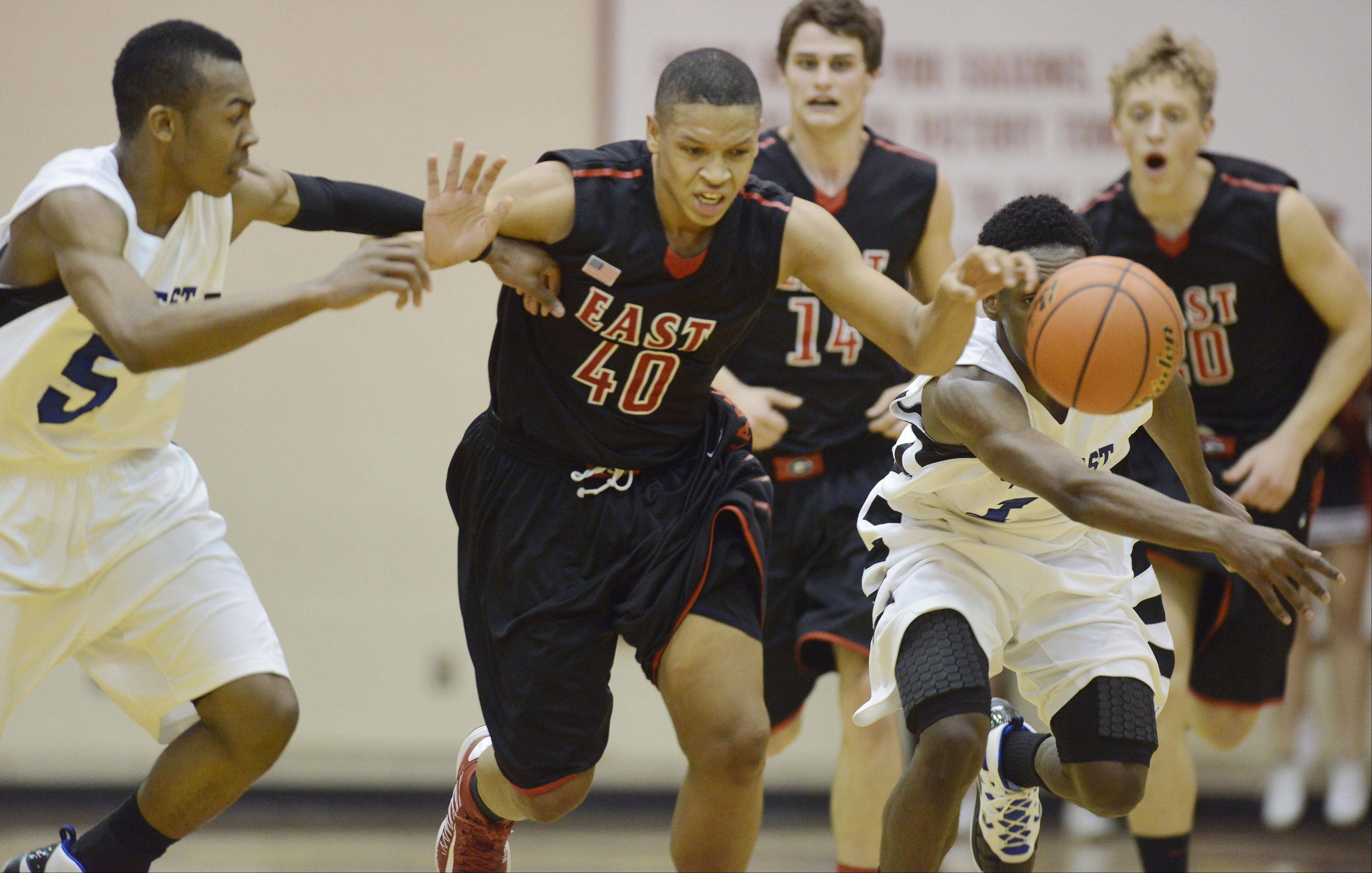 Images: Glenbard East vs. Proviso East, boys sectional basketball