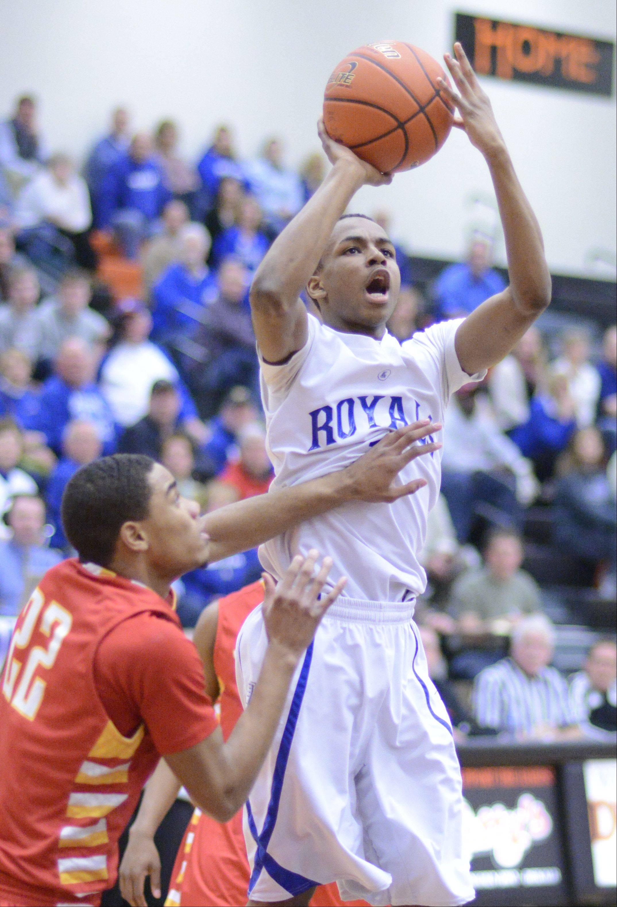 Images from the Larkin vs. Rockford Jefferson Class 4A boys sectional semifinal in Dekalb Wednesday, March 6, 2013.