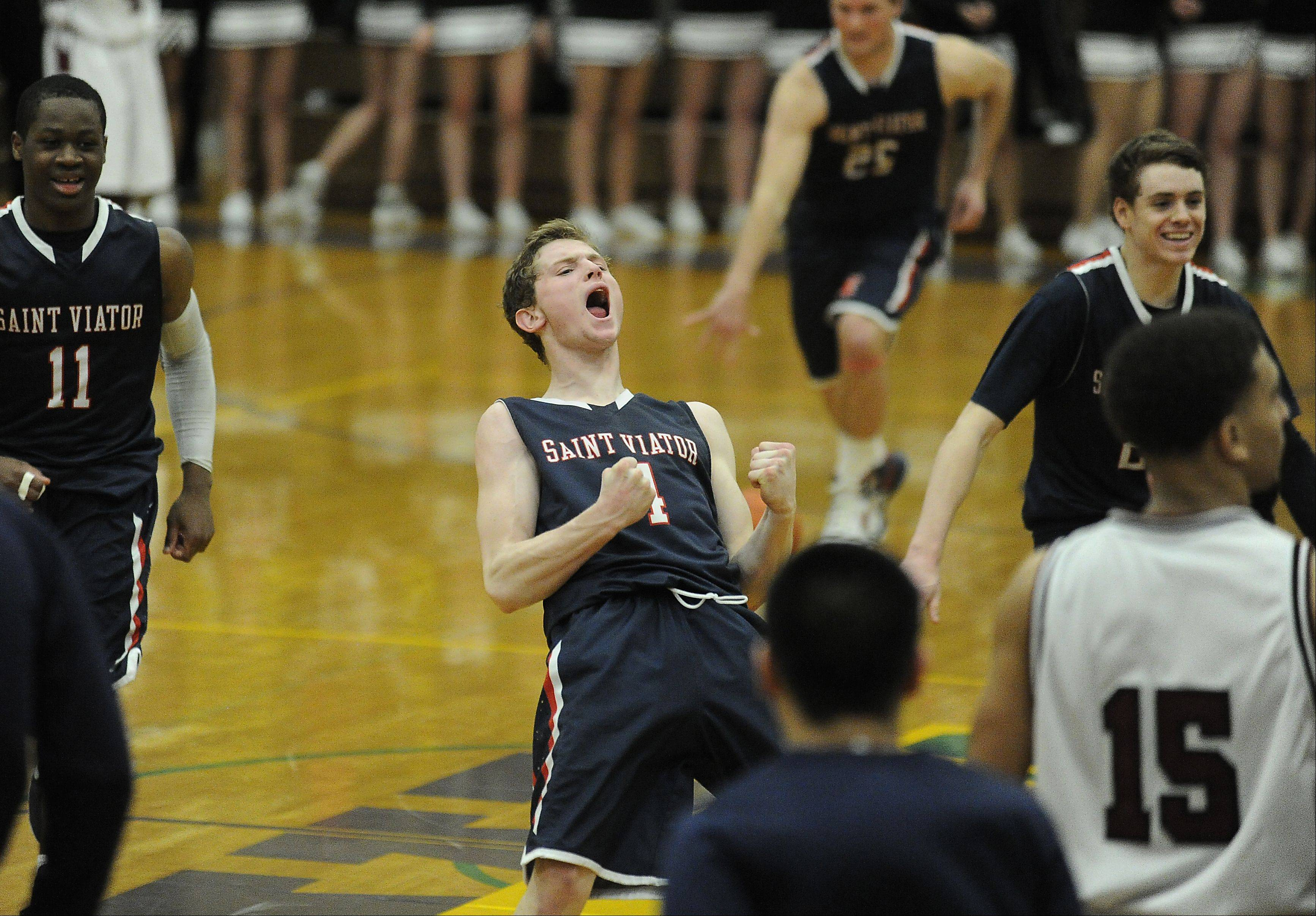 Images: St. Viator vs. Zion-Benton, boys basketball