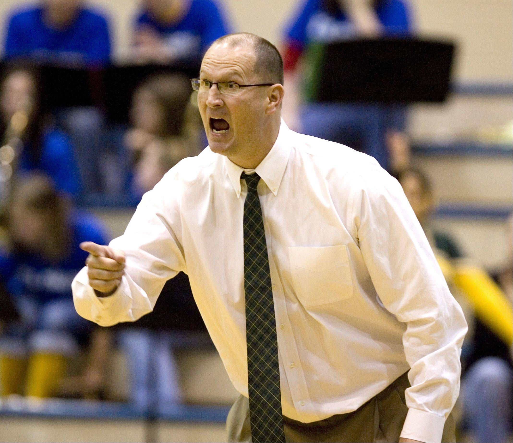 Waubonsie Valley boys basketball coach Steve Weemer is stepping down from that position.