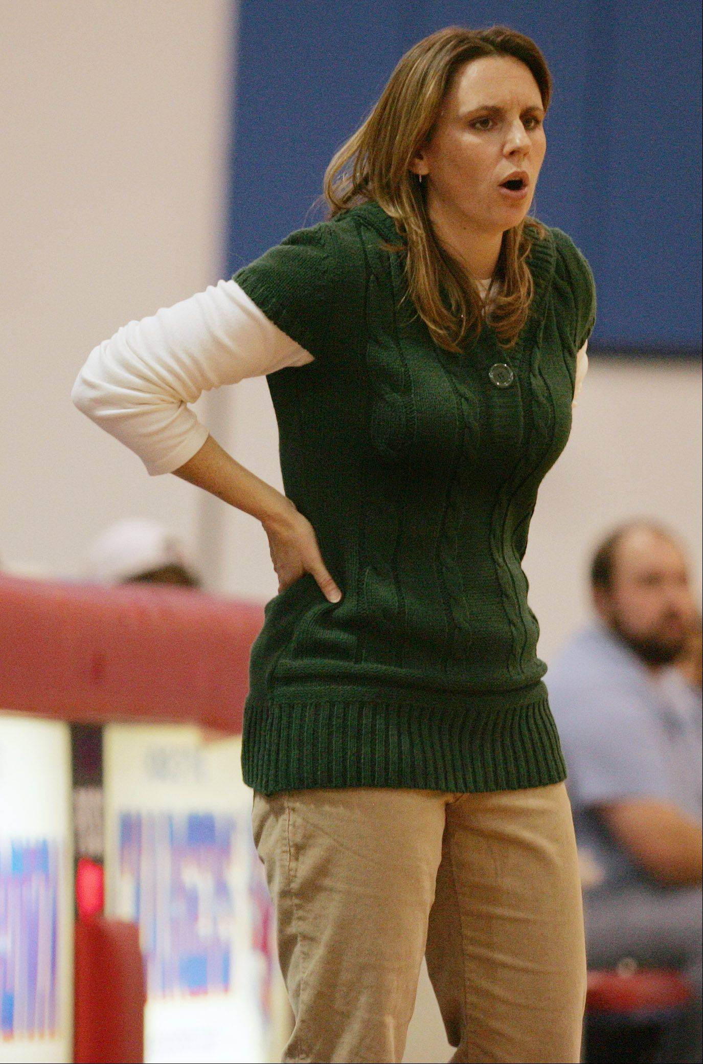 Michelle Russell was let go Tuesday after five years as Dundee-Crown's head girls basketball coach.