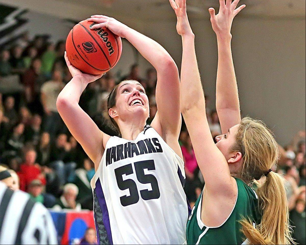 South Elgin alum Cortney Kumerow is one of an trio of former Daily Herald all-area players who will compete for Wisconsin-Whitewater in the Division III Final Four.