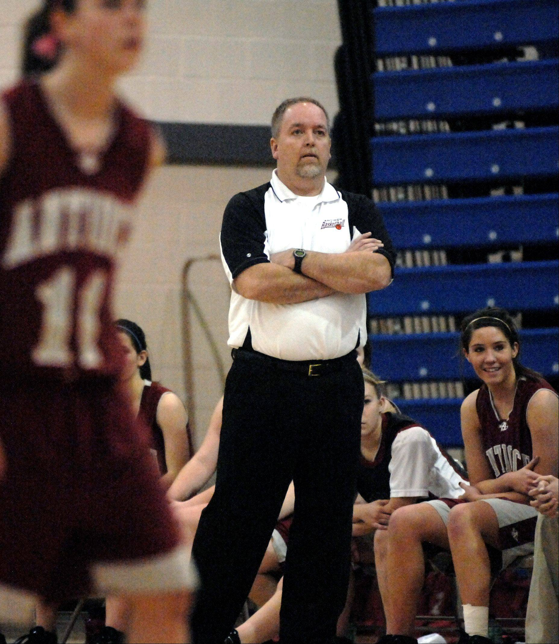 Antioch girls basketball coach Tim Borries will lead the West stars in the upcoming Lake County Senior Shootout.
