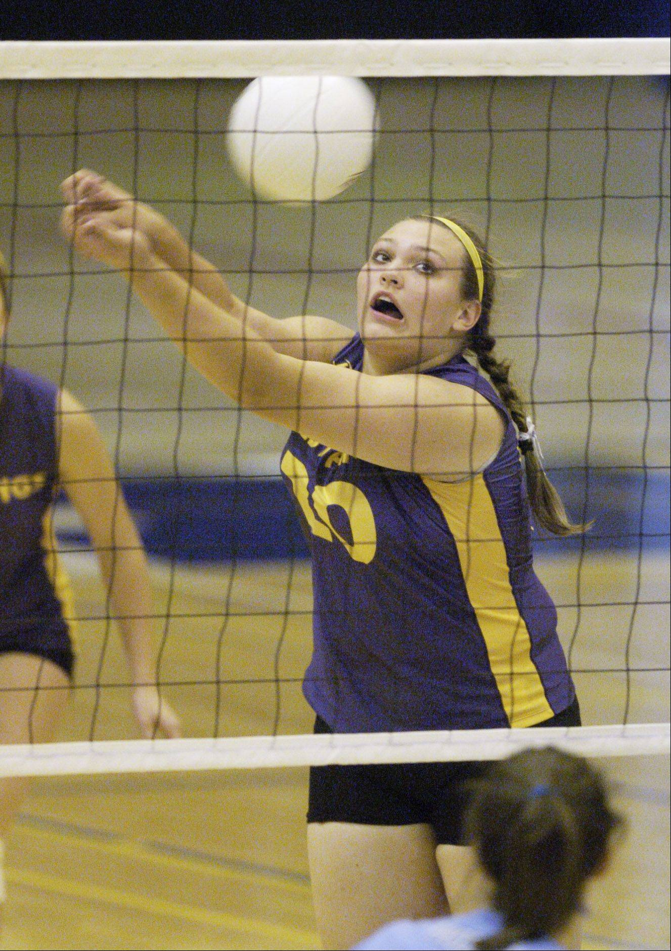 Morgan Keller excelled in three sports at Rolling Meadows, winning a total of 11 varsity letters.