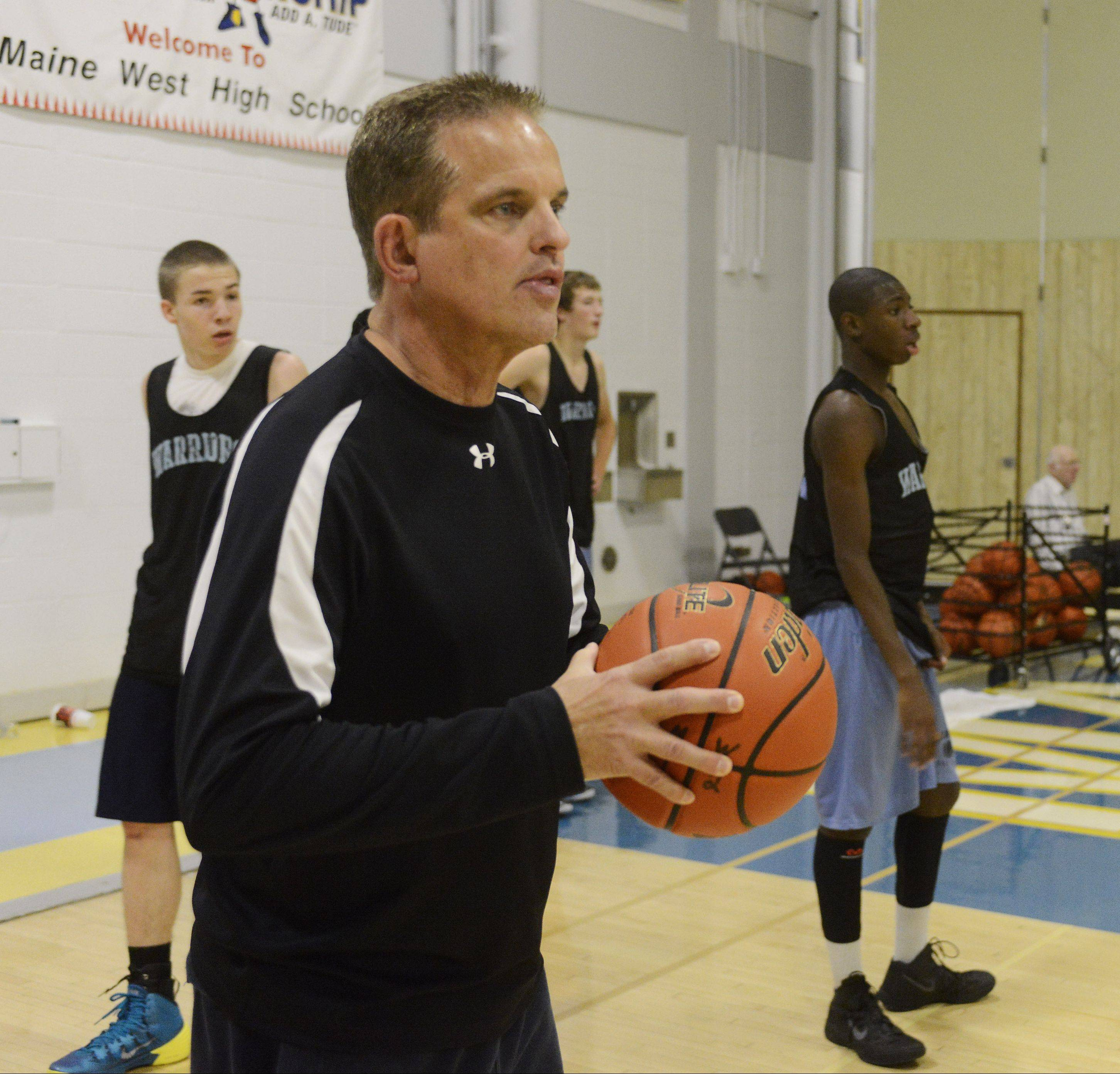 John Bongiorno is beginning his first year of coaching at Maine West, but he brings a deep background to the task at hand.