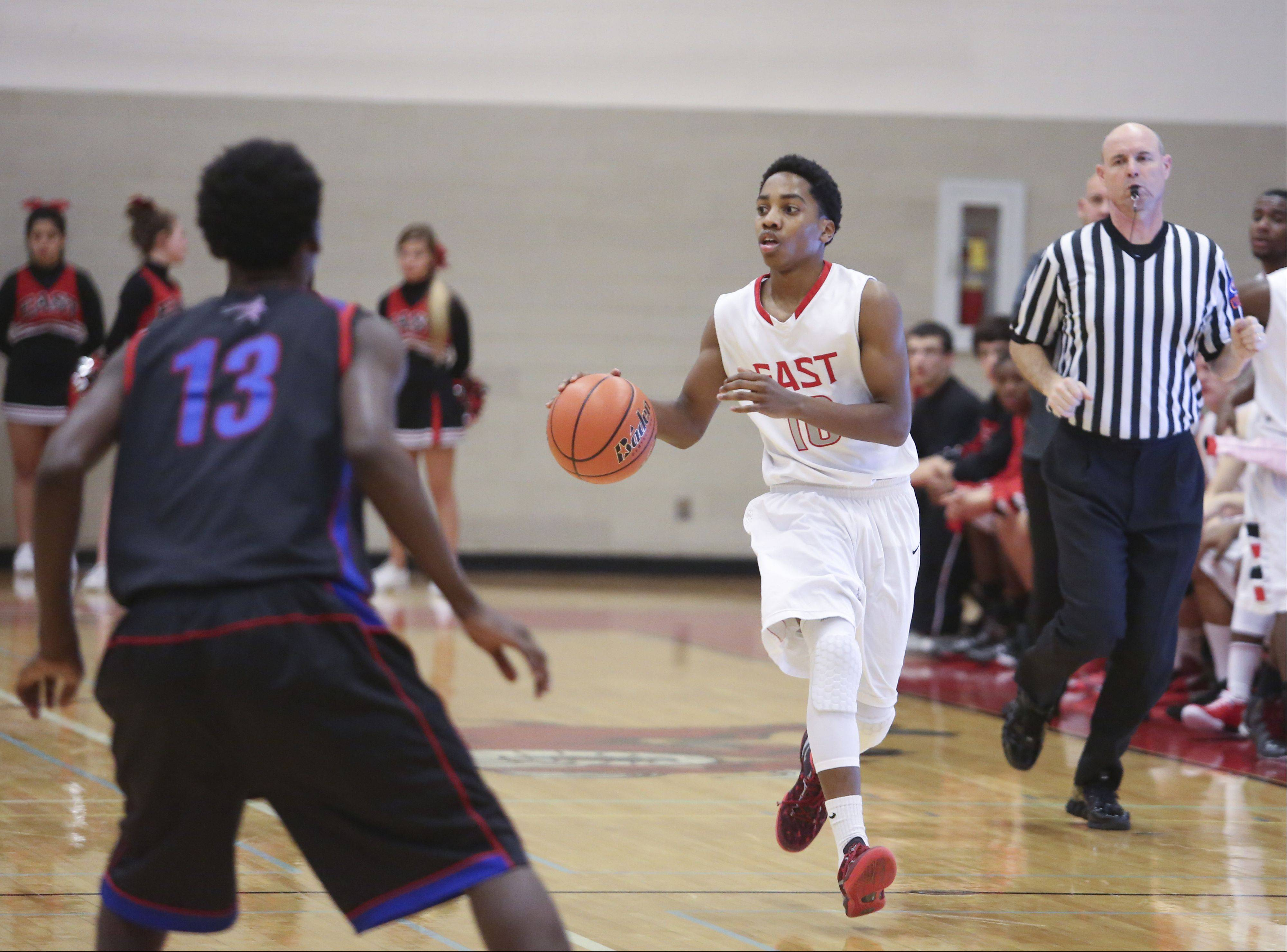 Images: Rich South at Glenbard East boys basketball