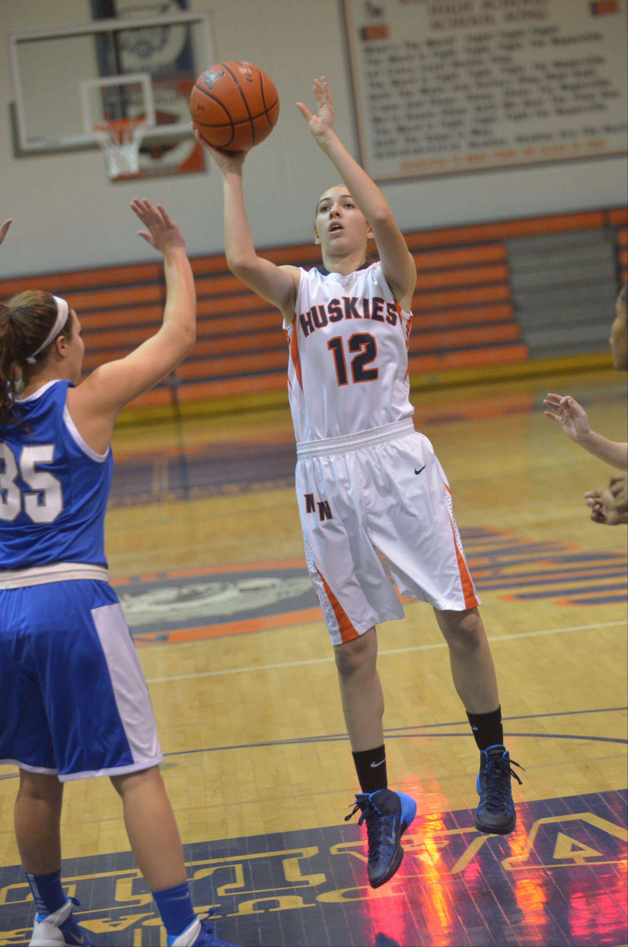 Photos from the Wheaton North at Naperville North girls basketball game on Tuesday, Dec. 3.