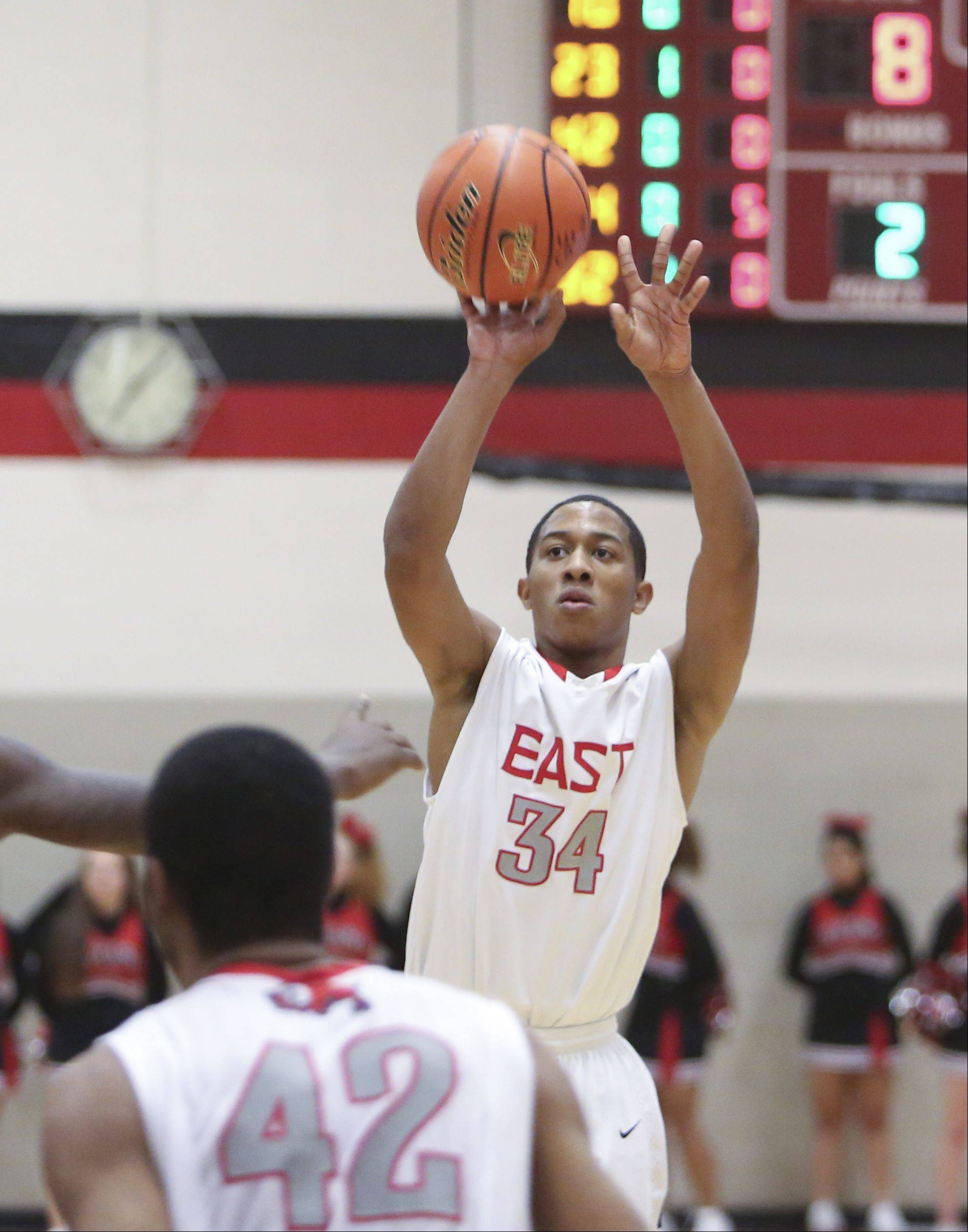 Photos from the Rich South at Glenbard East boys basketball game on Tuesday, Dec. 3.
