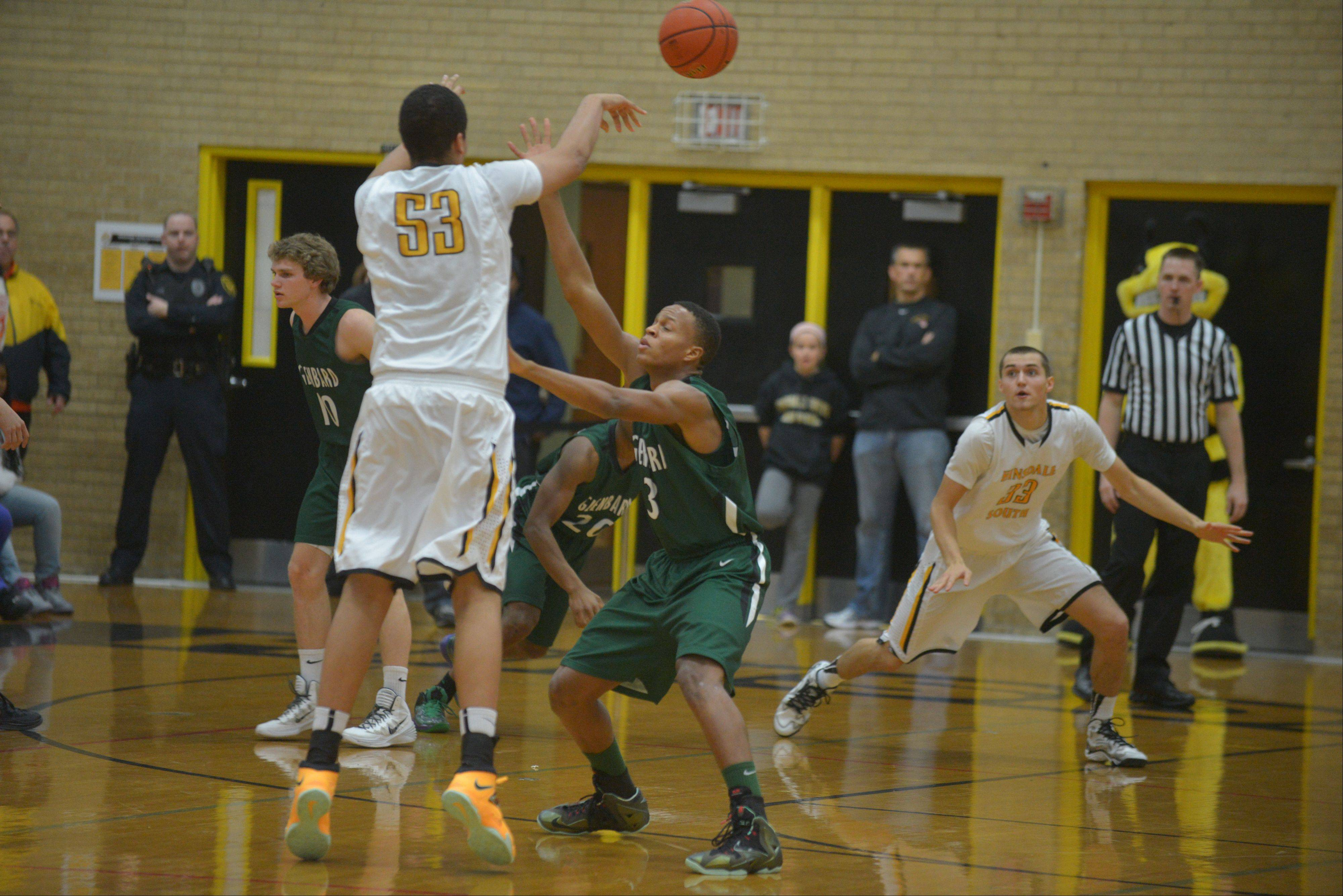 Images: Glenbard West at Hinsdale South boys basketball