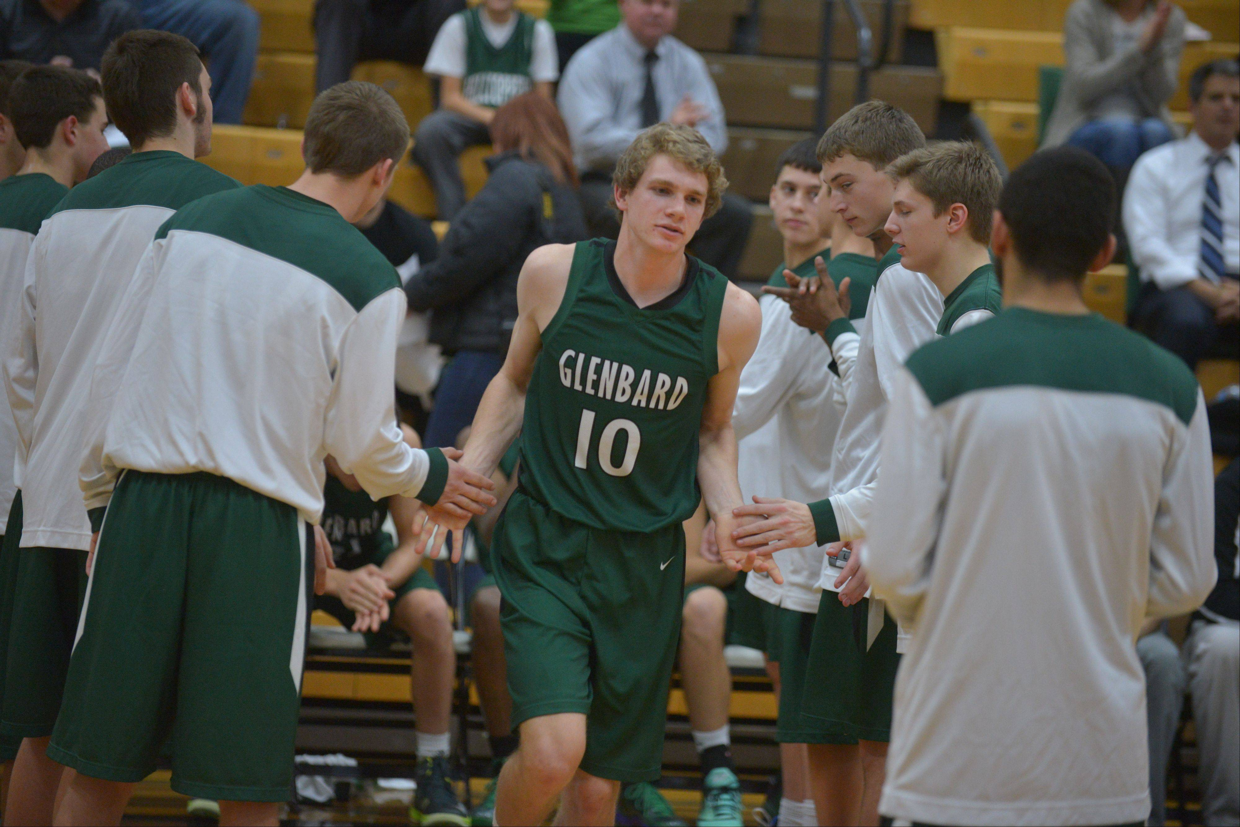 Glenbard West at Hinsdale South boys basketball