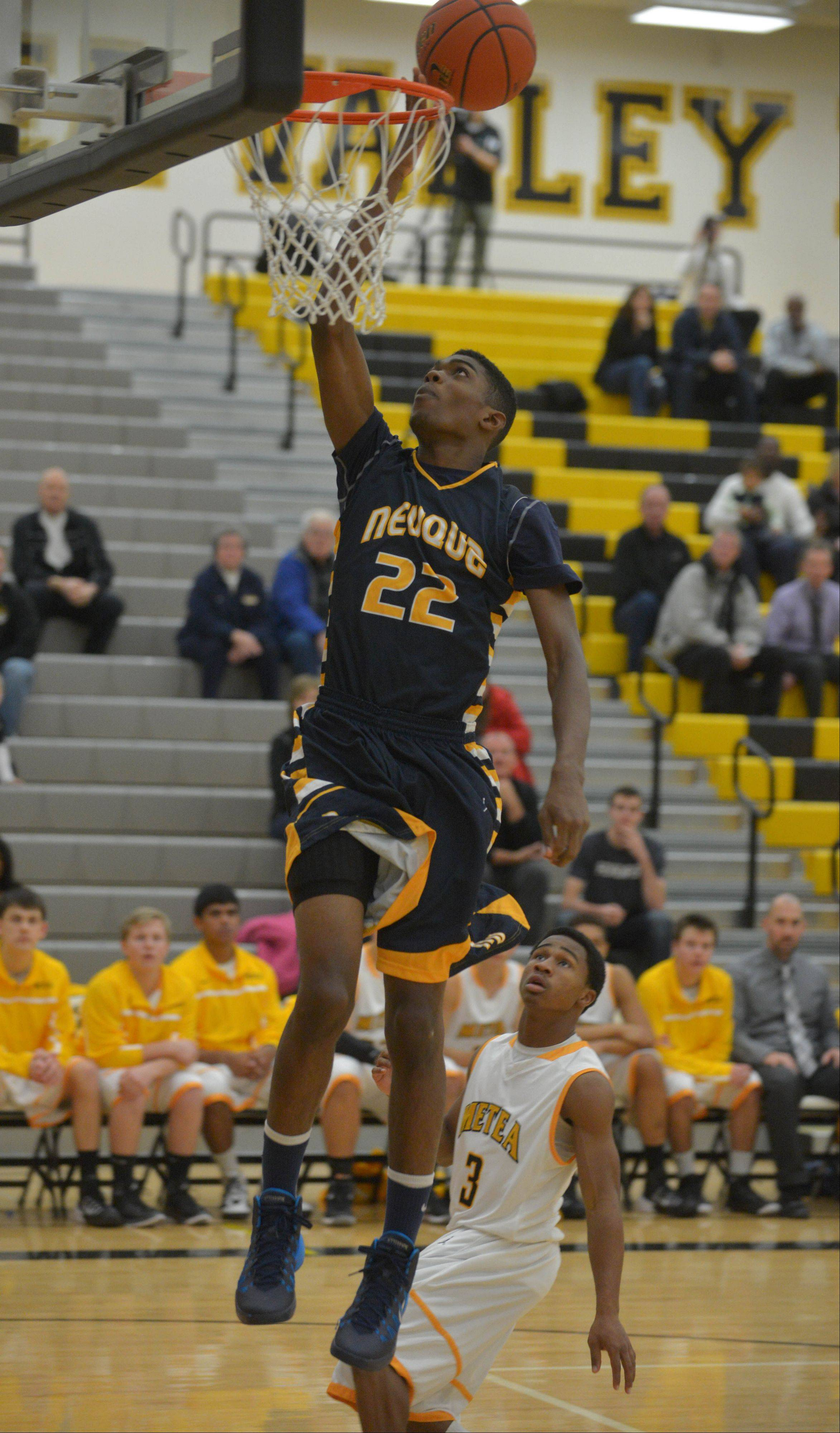 Key stretch lifts Neuqua Valley past rival Metea Valley