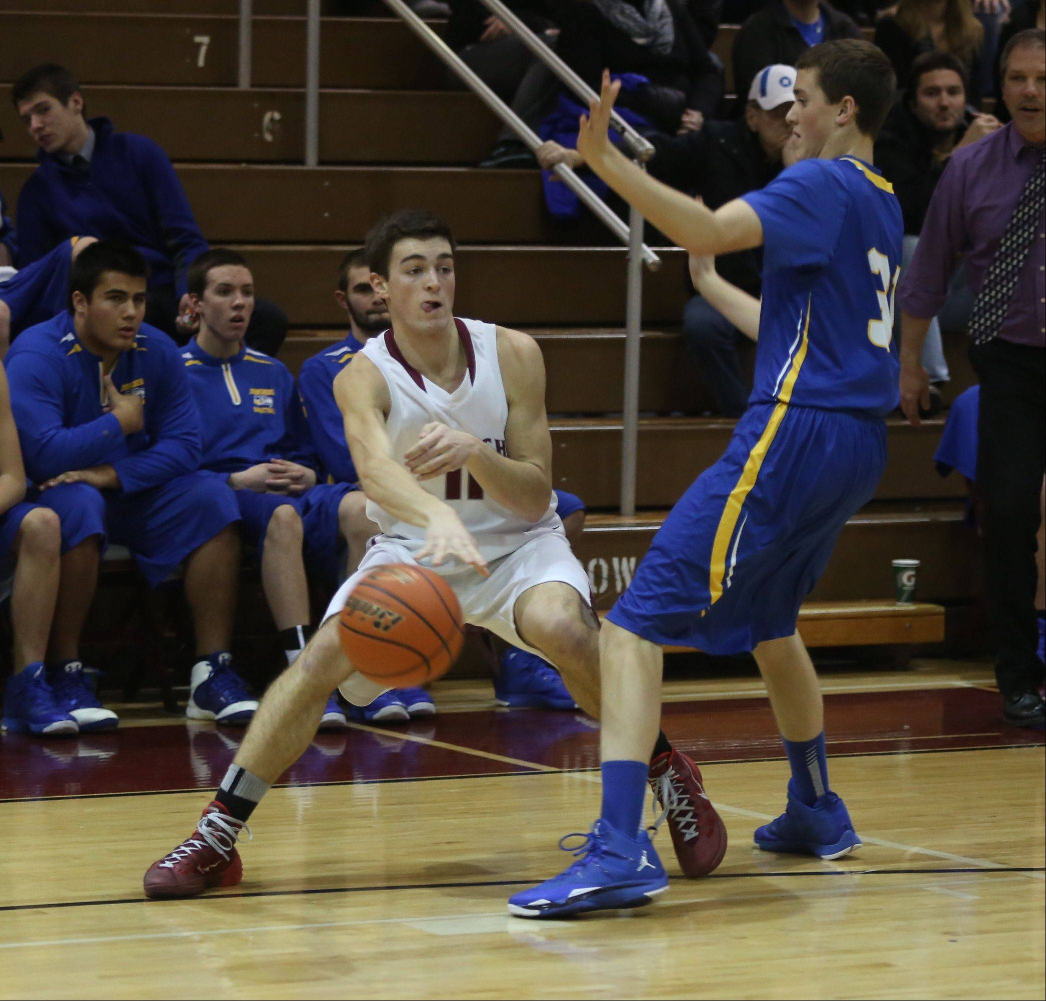 Images from the Johnsburg vs. Antioch boys basketball game on Thursday, Dec. 5.