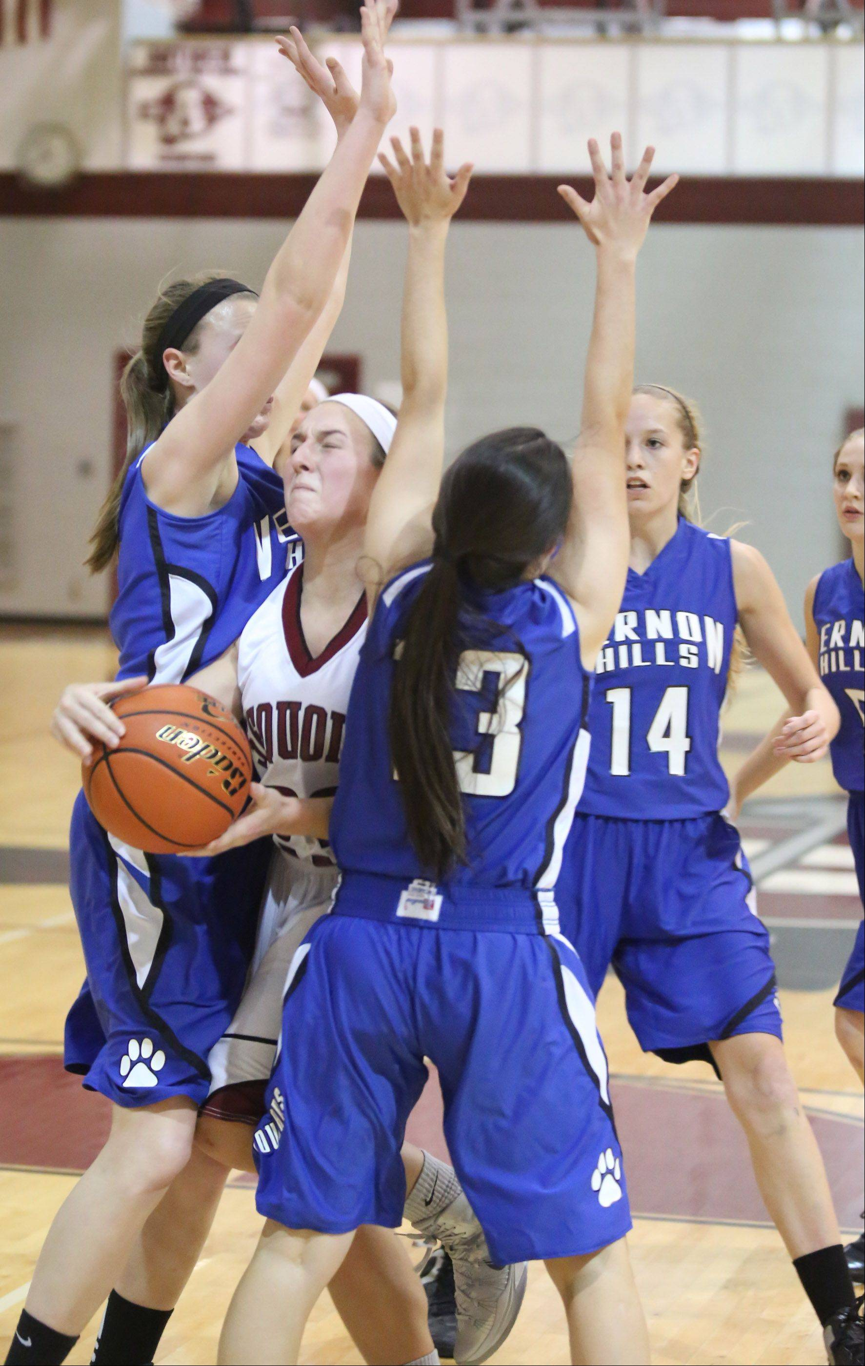 Images from the Antioch vs. Vernon Hills girls basketball game on Friday, Dec. 6.