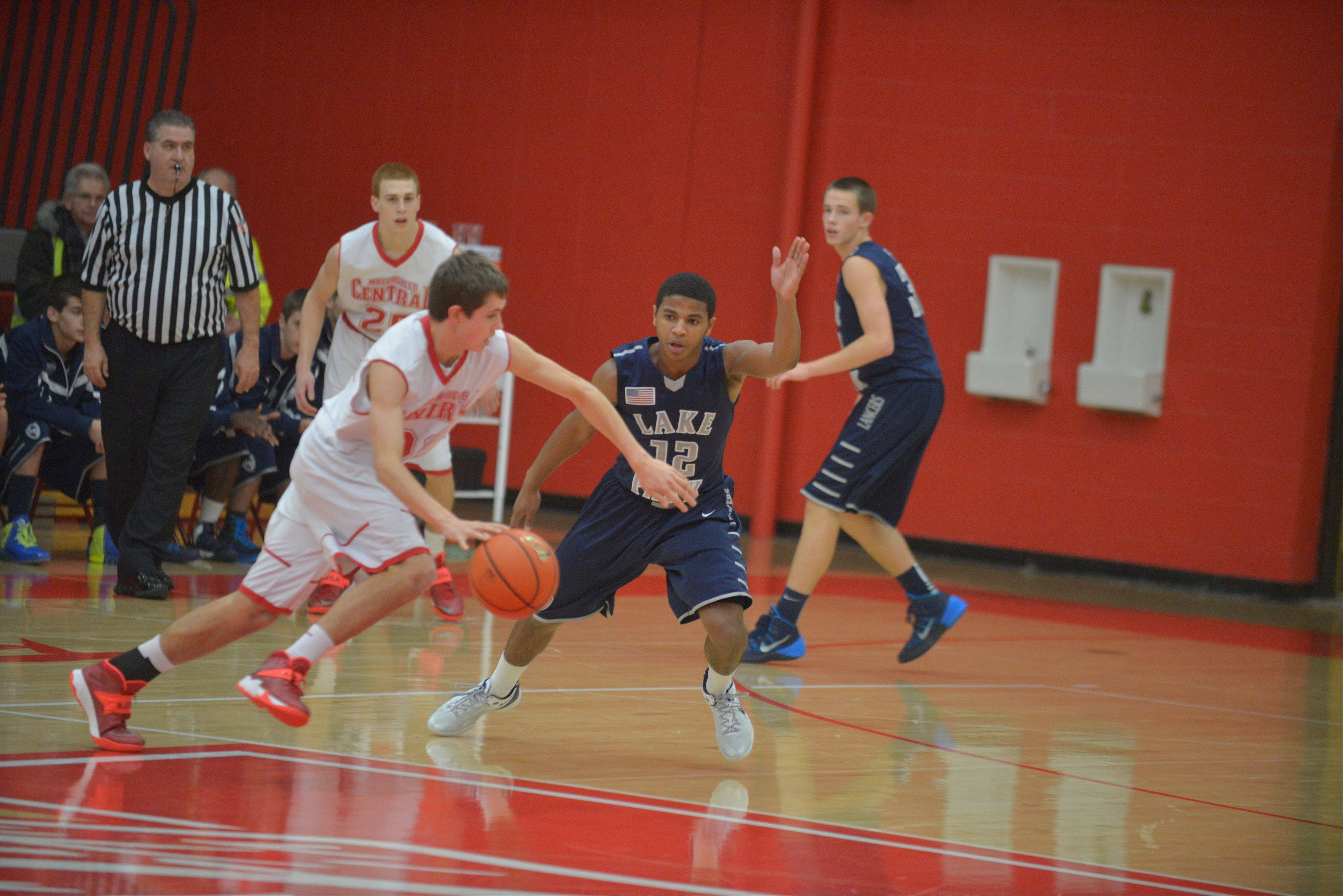 Images from the Naperville Central vs. Lake Park boys basketball game on Friday, Dec. 6.