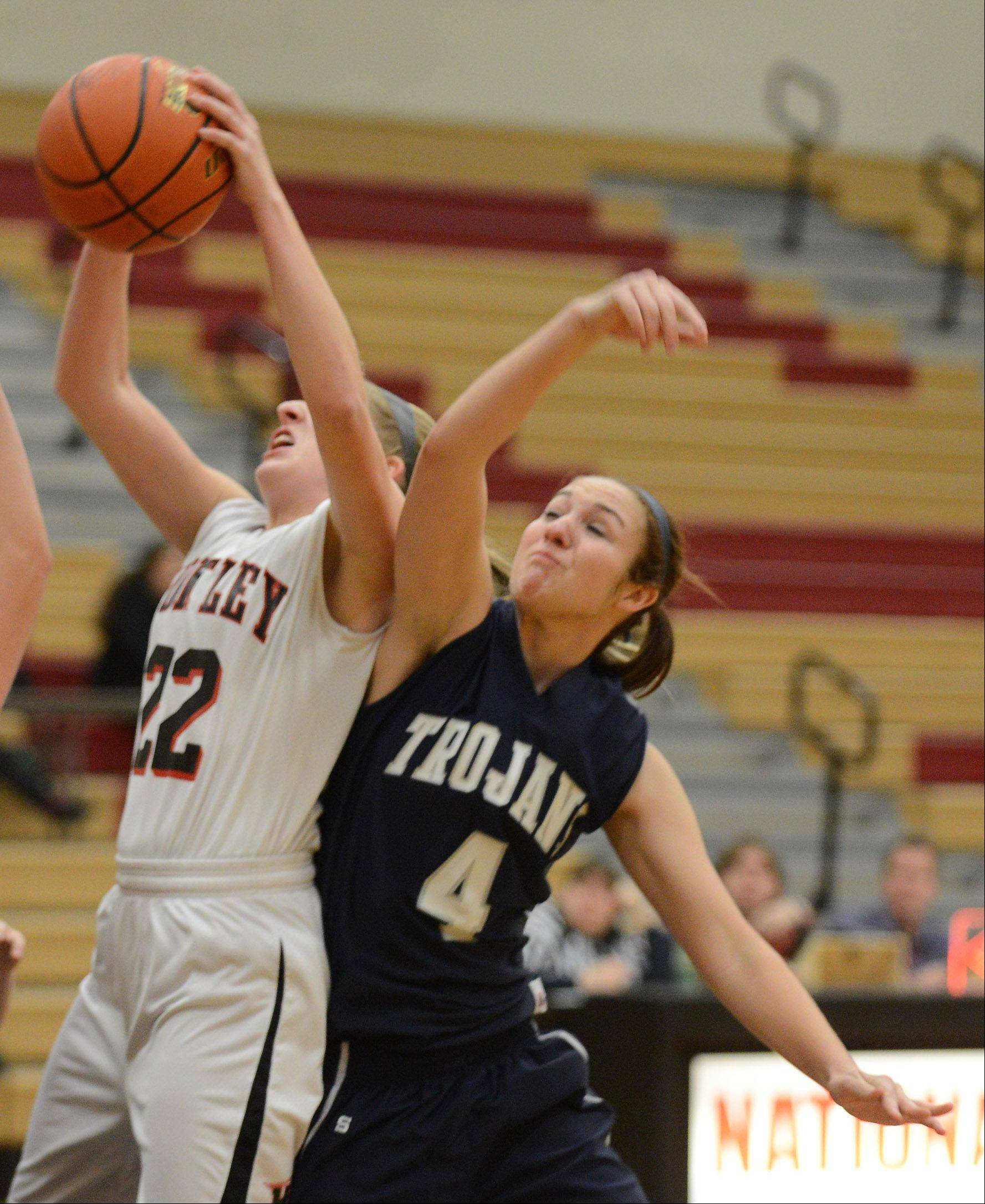 Images from the Cary-Grove vs. Huntley girls basketball game Monday, December 9, 2013.