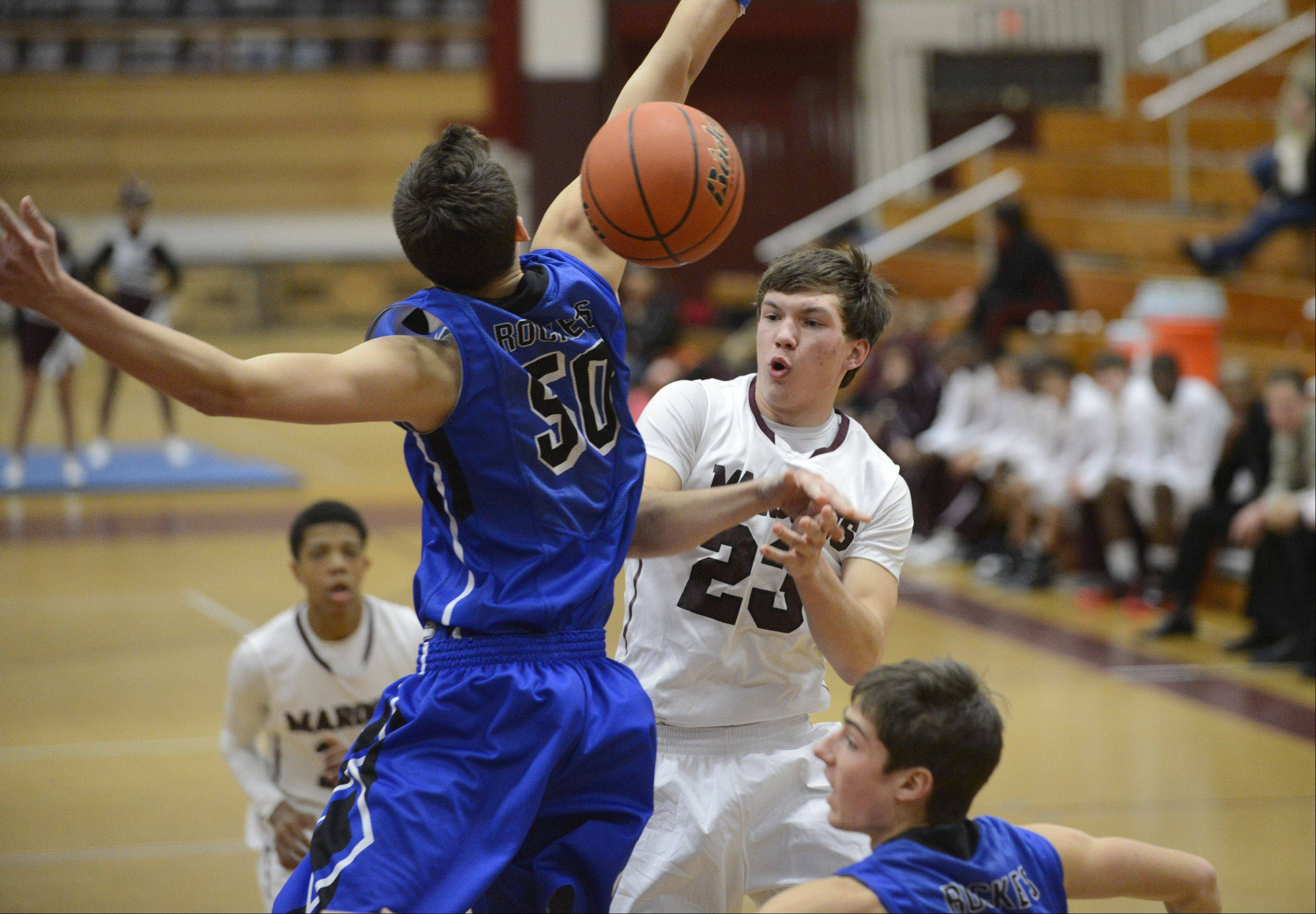 Burlington Central upends Elgin