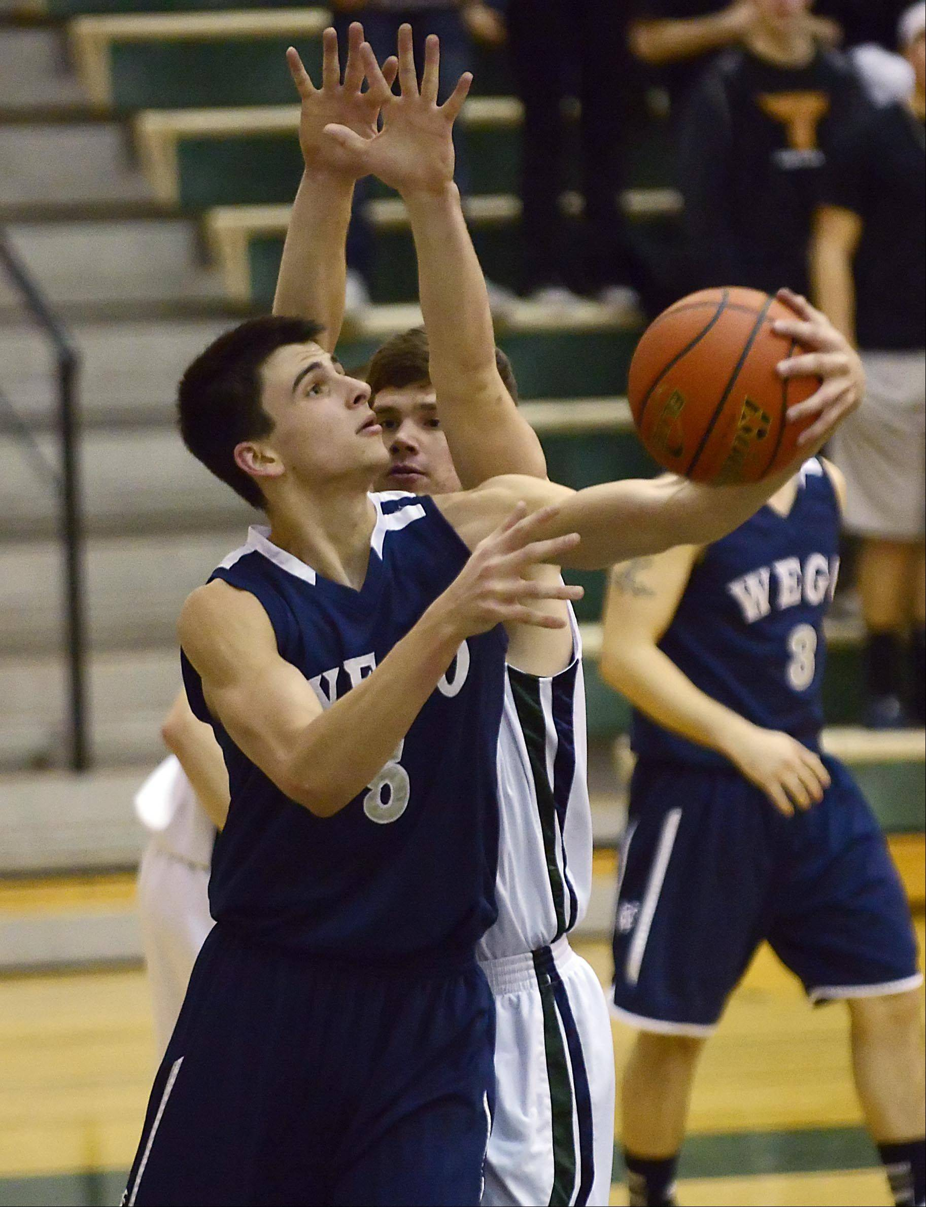 West Chicago's John Konchar is averaging 31 points a game.