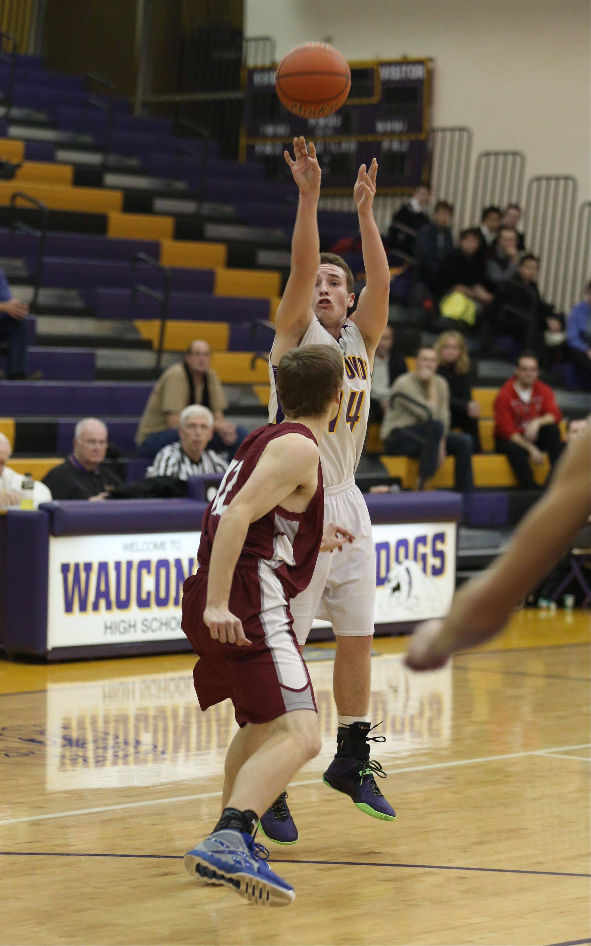Images from the Antioch at Wauconda boys basketball game on Thursday, Dec. 12.