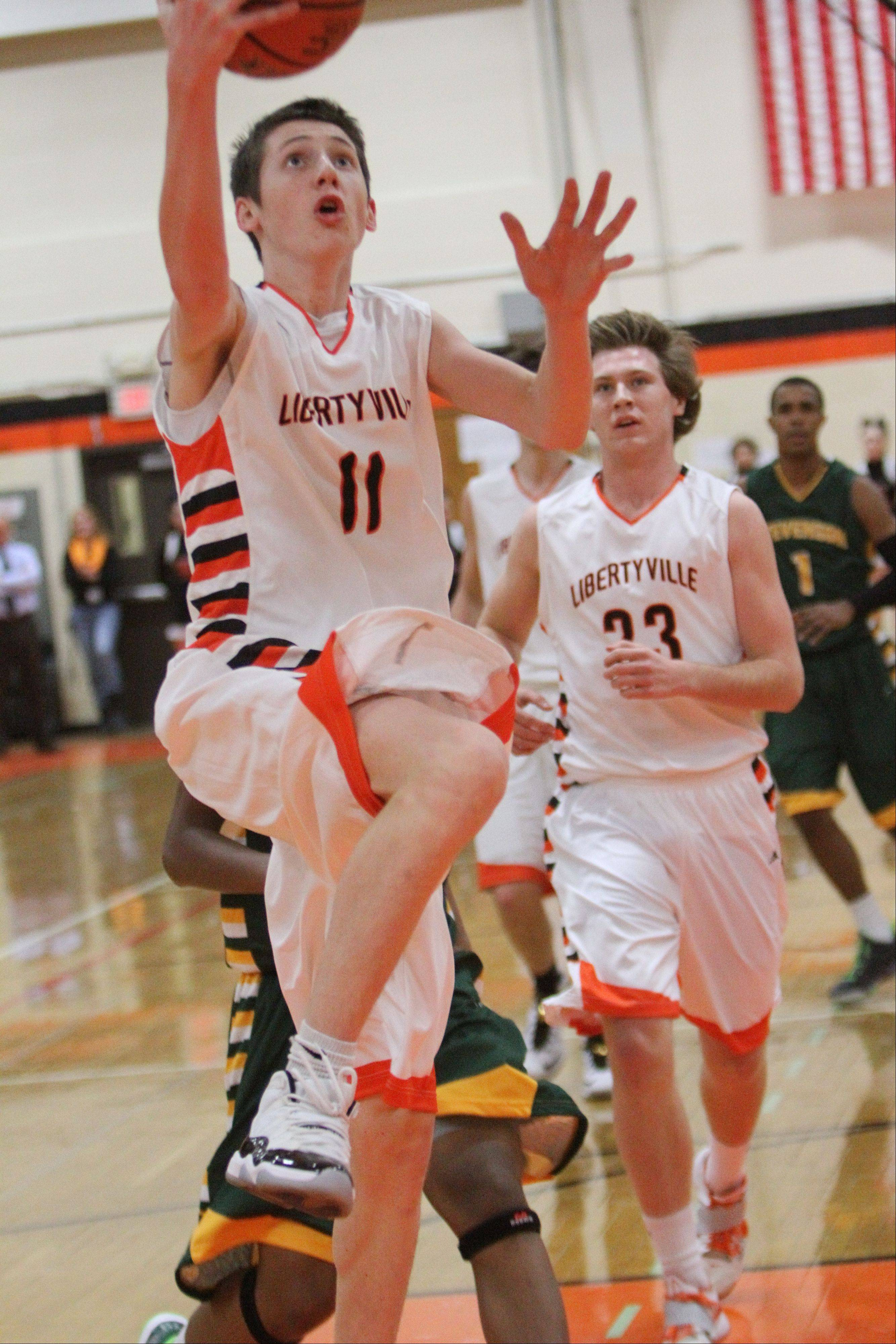 Images from the Libertyville vs. Stevenson boys basketball game on Wednesday, Dec. 11.