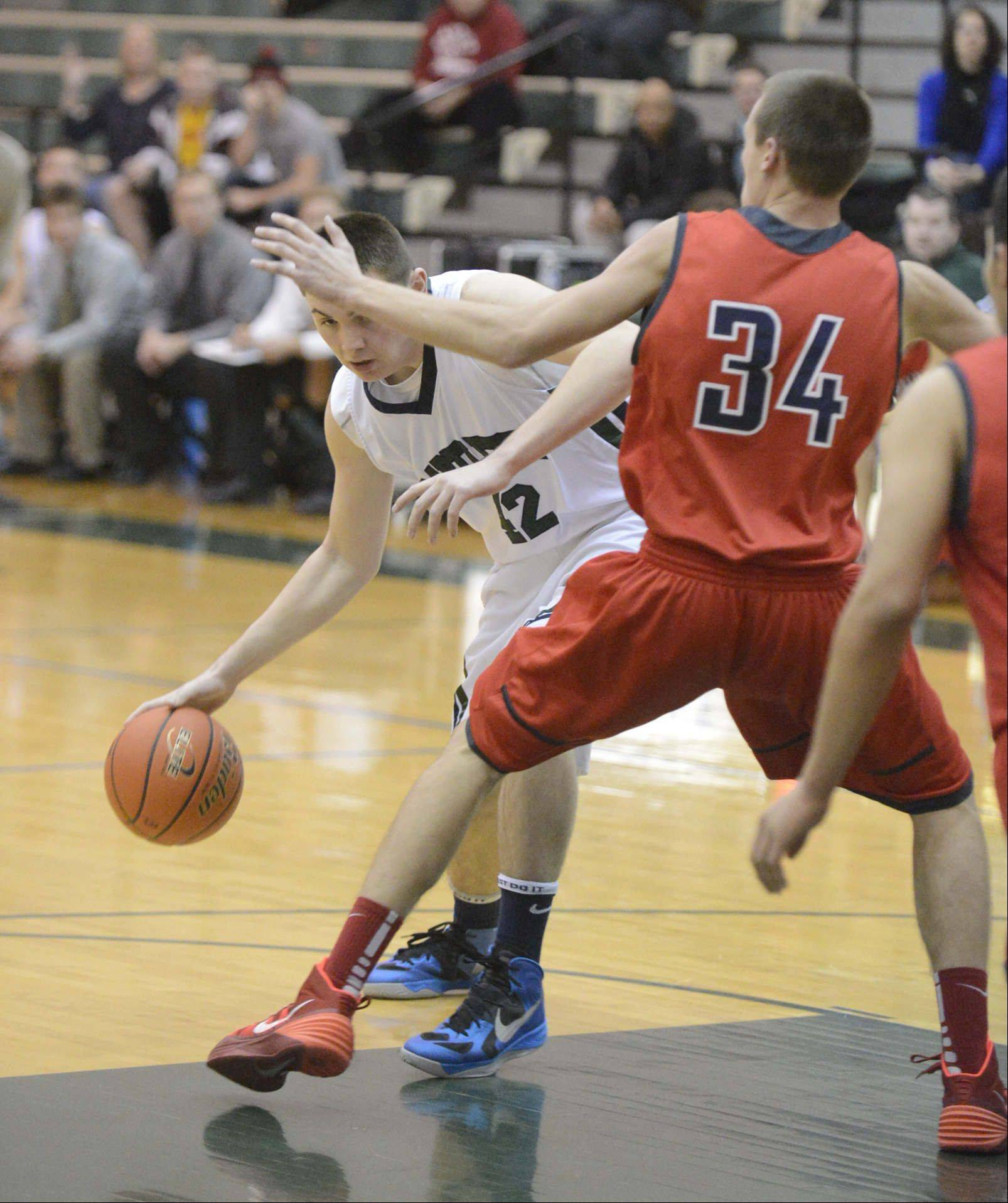 Images from the South Elgin vs. Bartlett boys basketball game Friday, December 13, 2013.