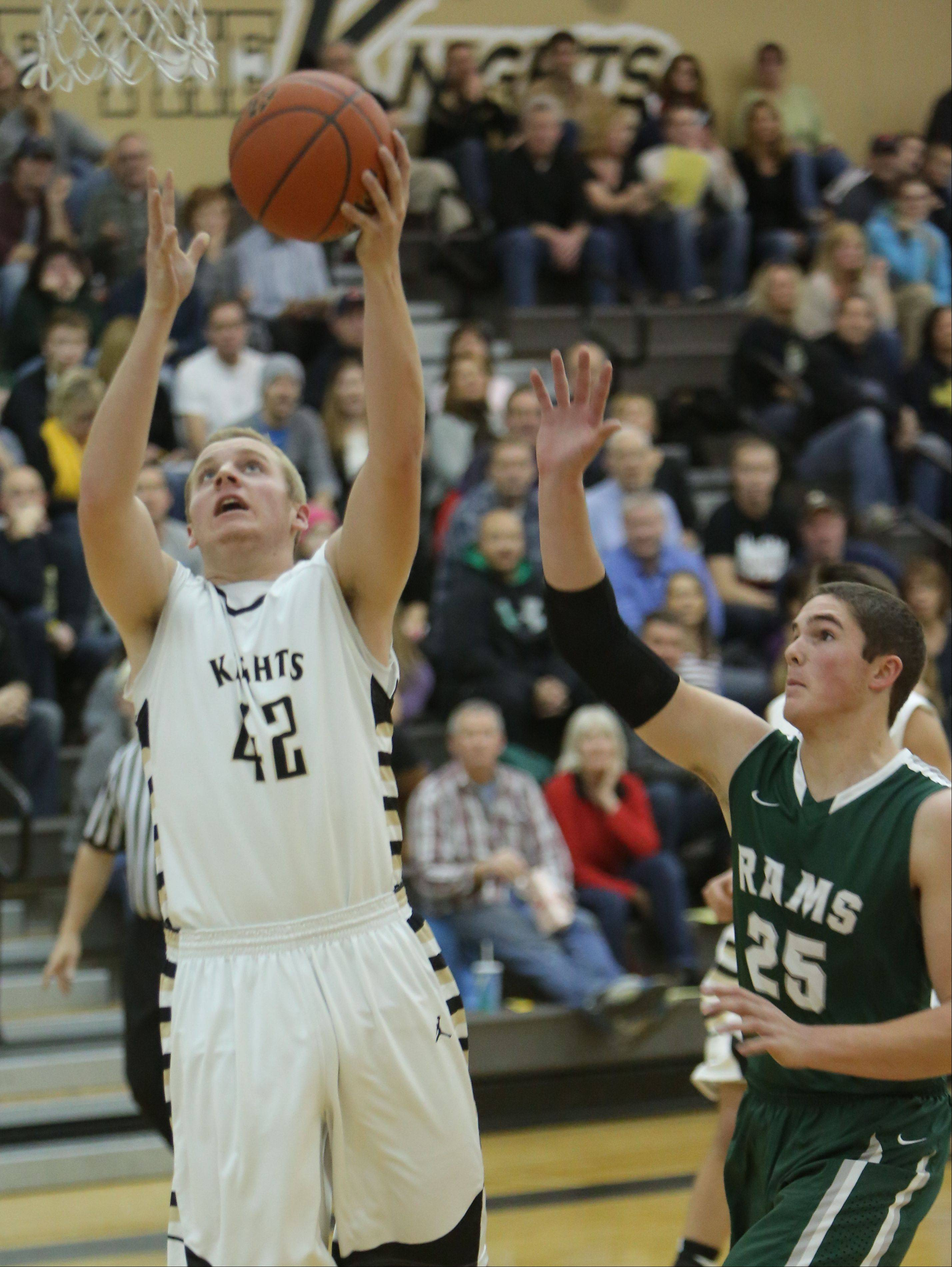 Images from the Grayslake North vs. Grayslake Central boys basketball game on Friday, Dec. 13.