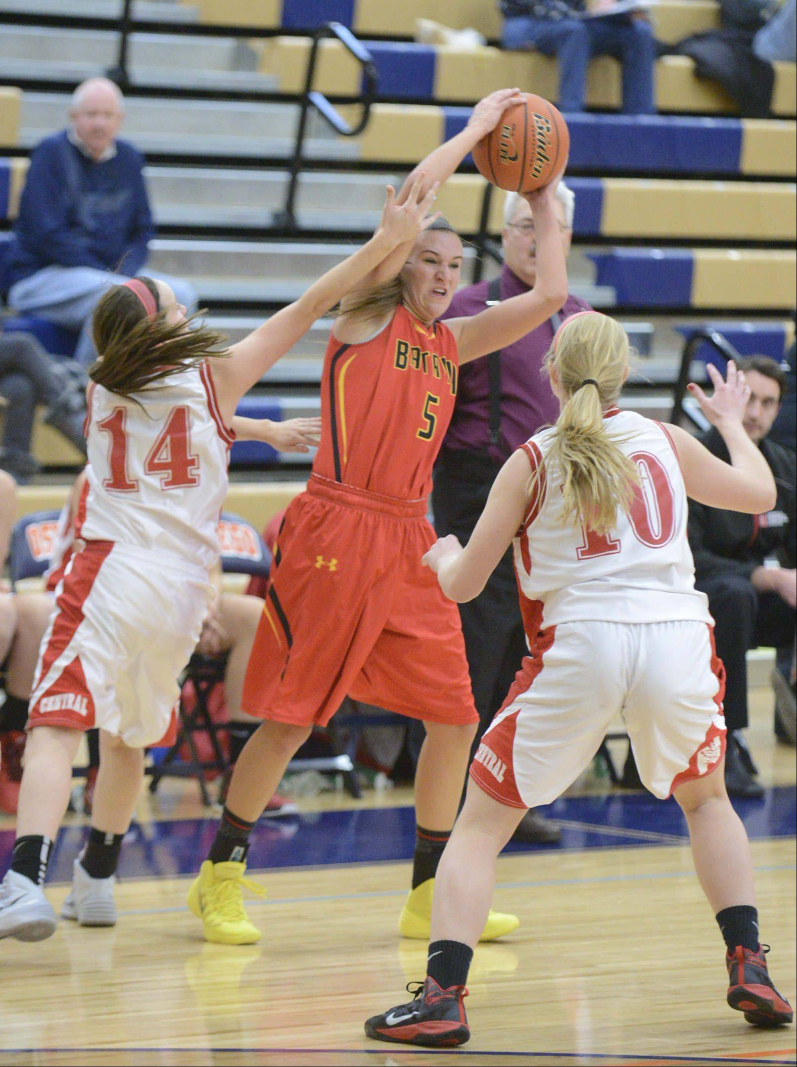Images from the Batavia vs. Naperville Central girls basketball game Saturday, December 14, 2013.