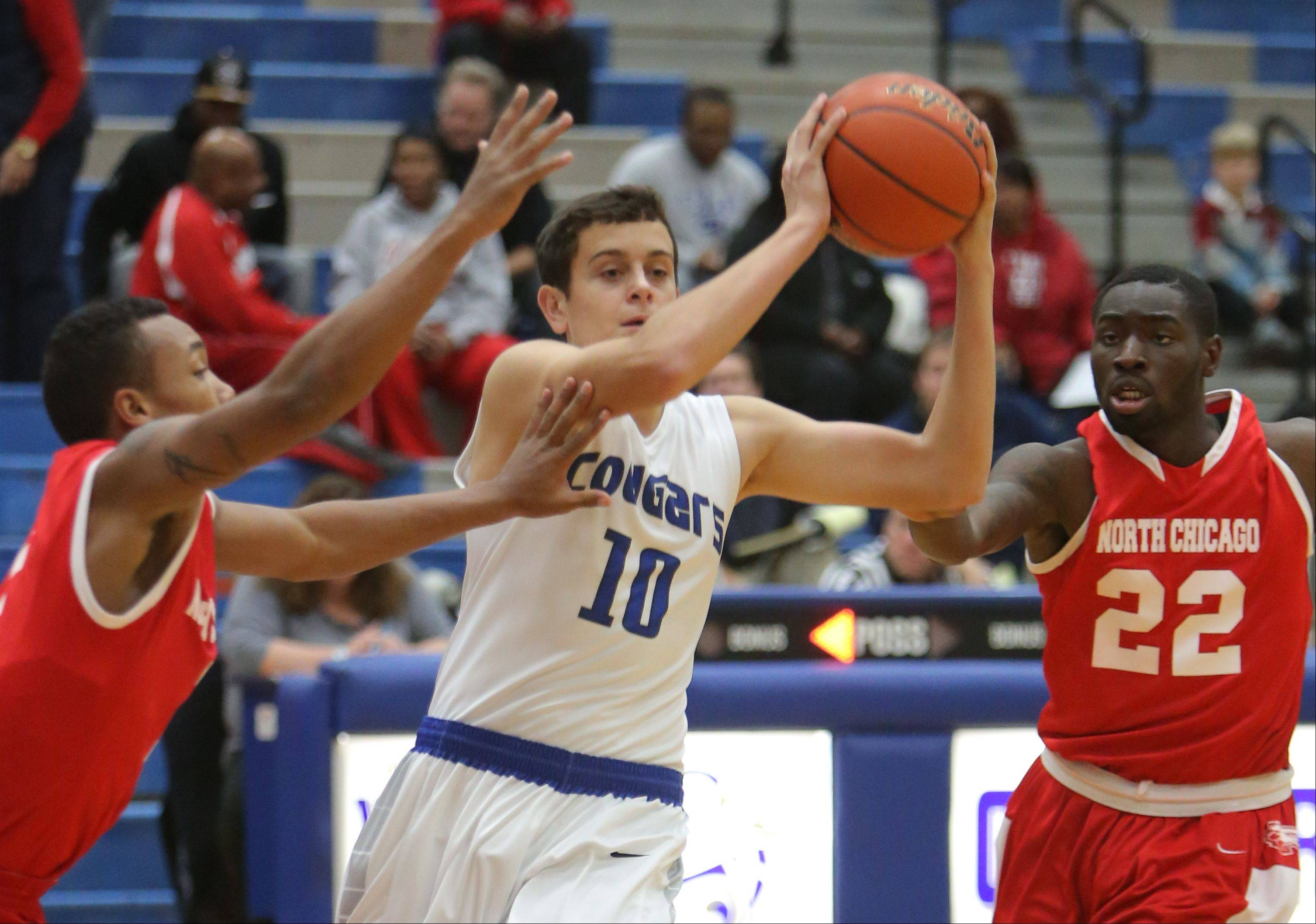 Images: Vernon Hills vs. North Chicago boys basketball