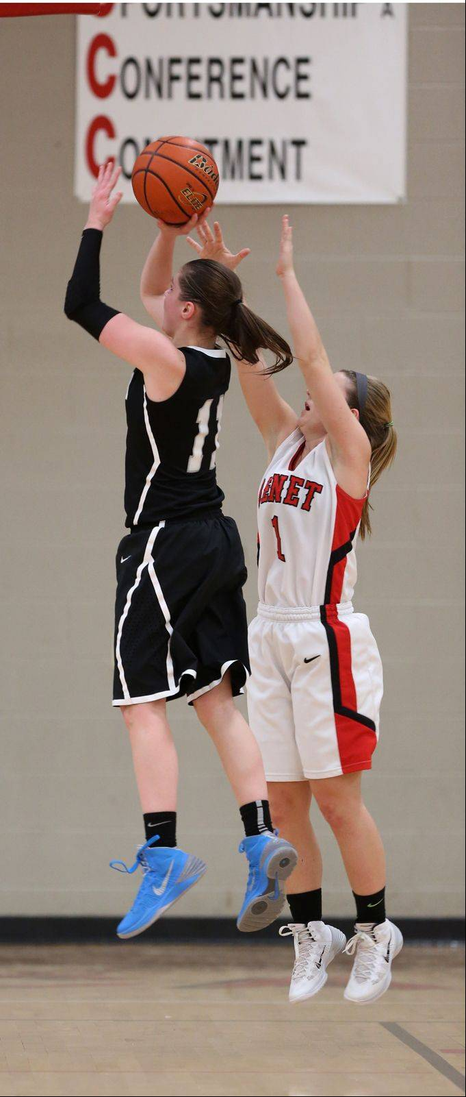 Photos from the Fenwick at Benet Academy girls basketball game on Tuesday, Dec. 17.