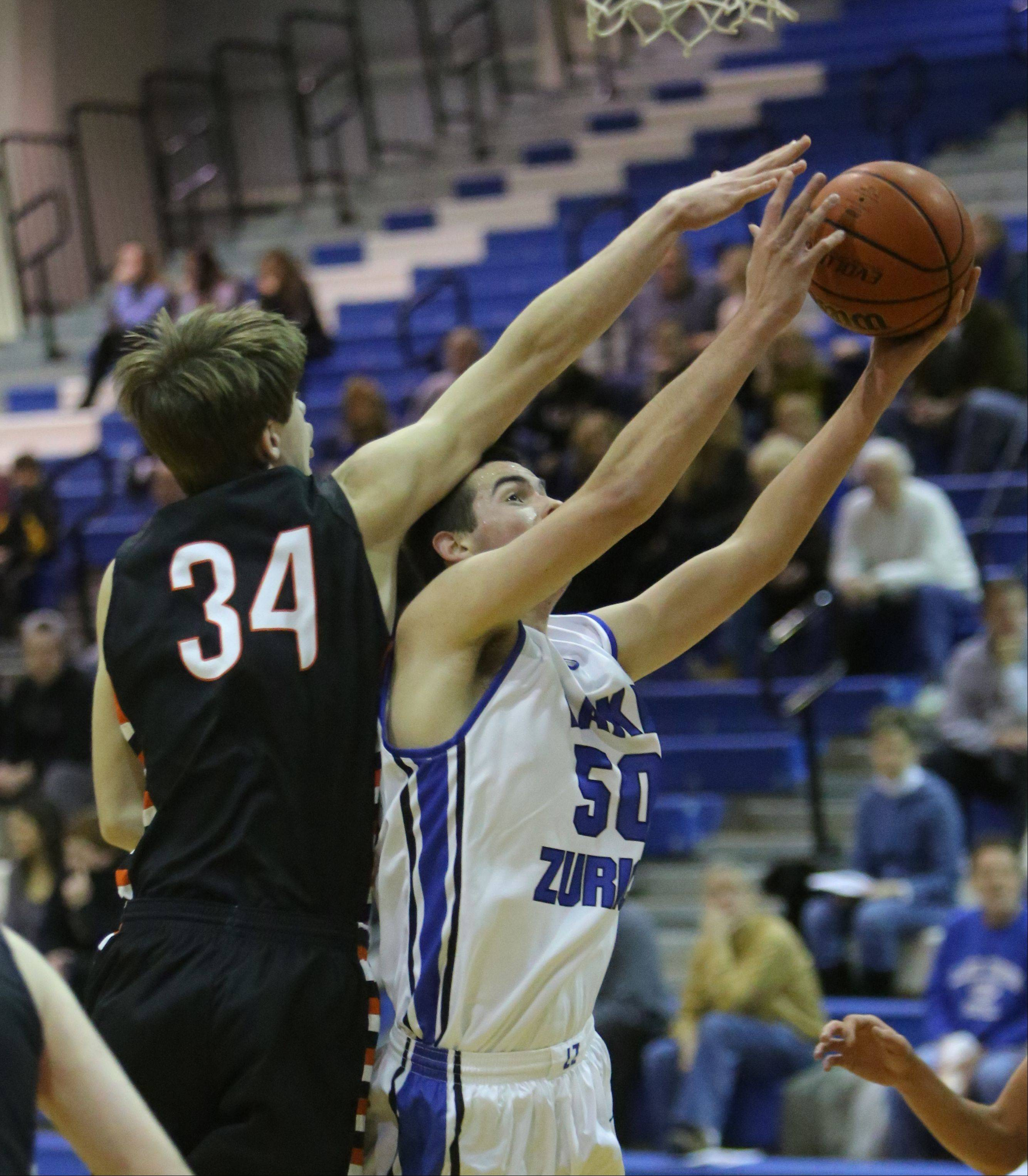 Images from the Lake Zurich vs. Libertyville boys basketball game on Wednesday, Dec. 18.
