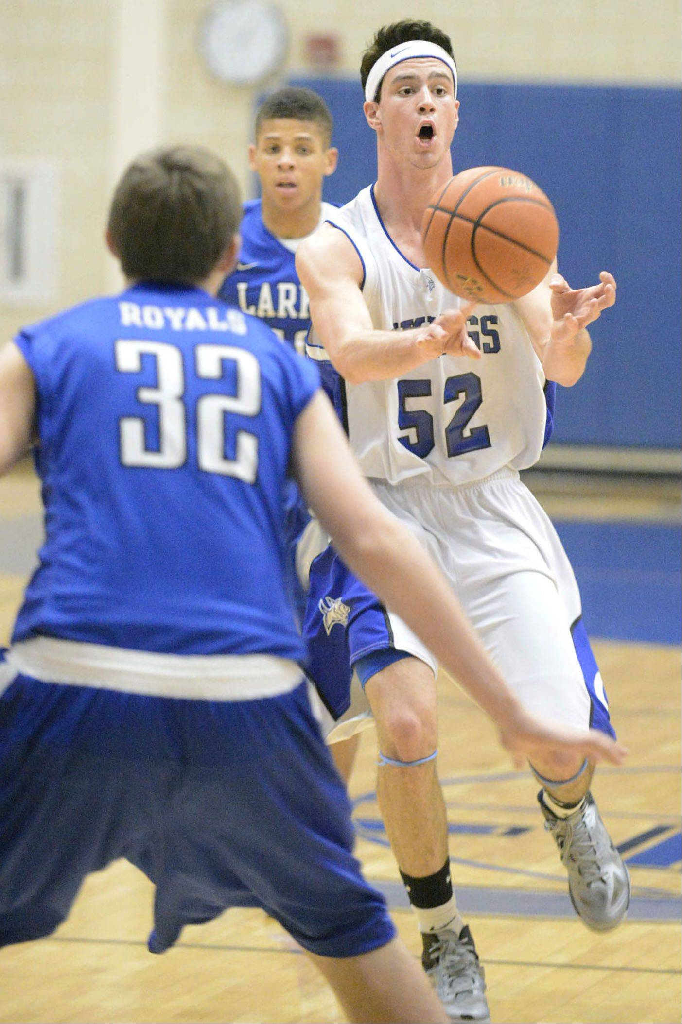 Images from the Larkin vs. Geneva boys basketball game Wednesday, December 20, 2013.