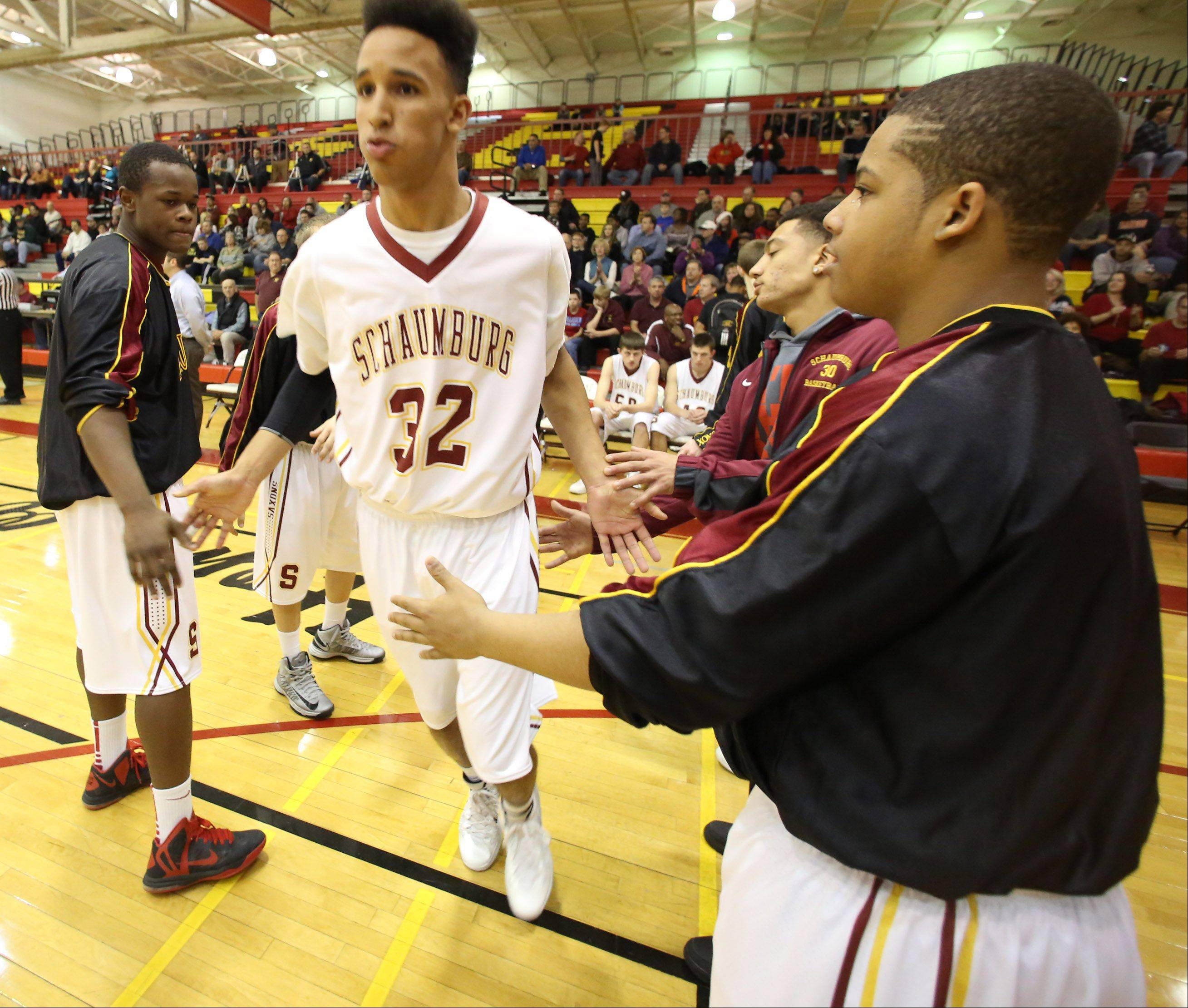Photos from the Schaumburg vs. Fremd boys basketball game on Friday, December 20th, in Schaumburg.