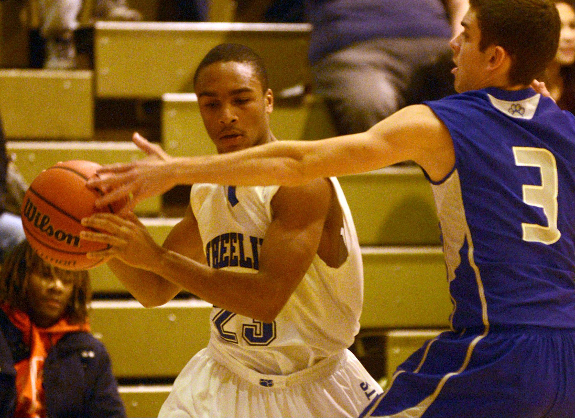 Images: Wheeling vs. Vernon Hills boys basketball