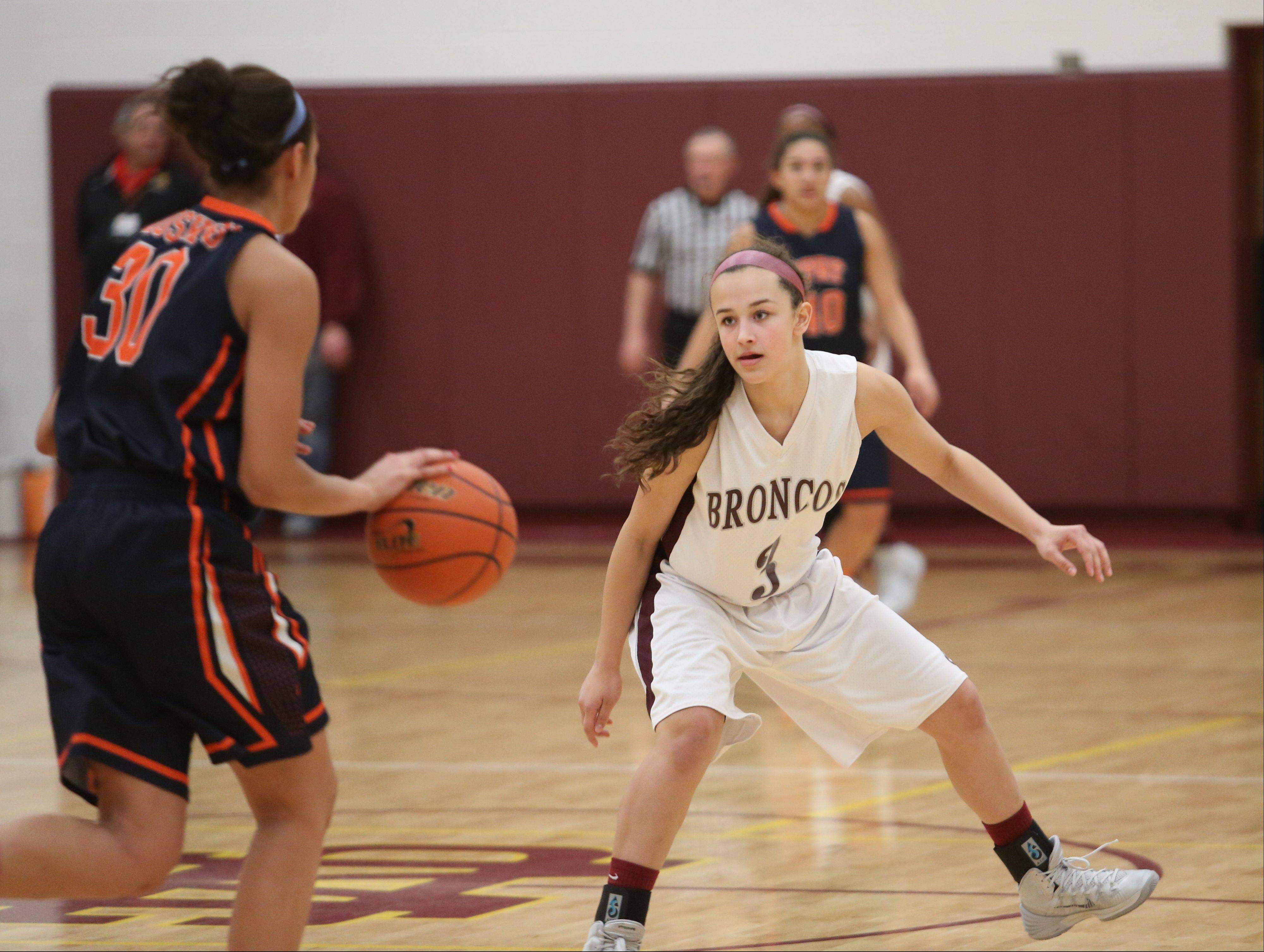 Images: Montini vs. Oak Park River Forest girls basketball