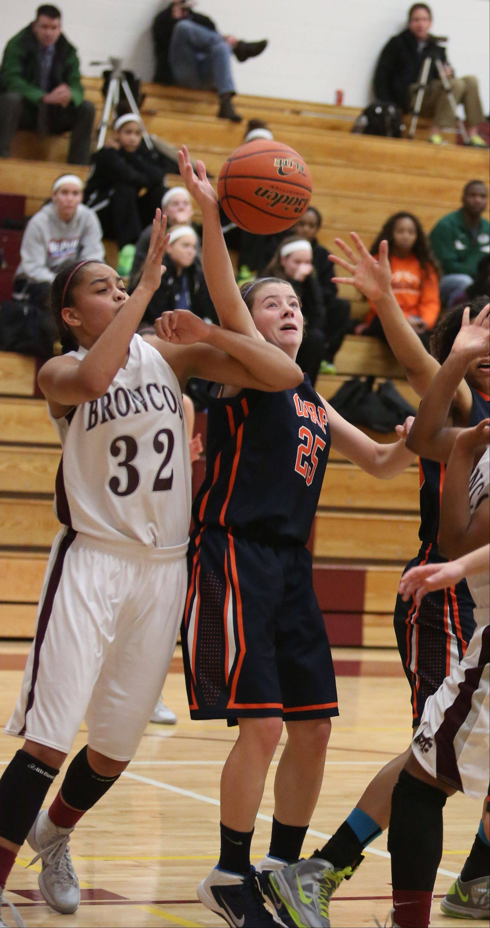 Photos from the Montini vs. Oak Park and River Forest girls basketball game on Monday, Dec. 23.