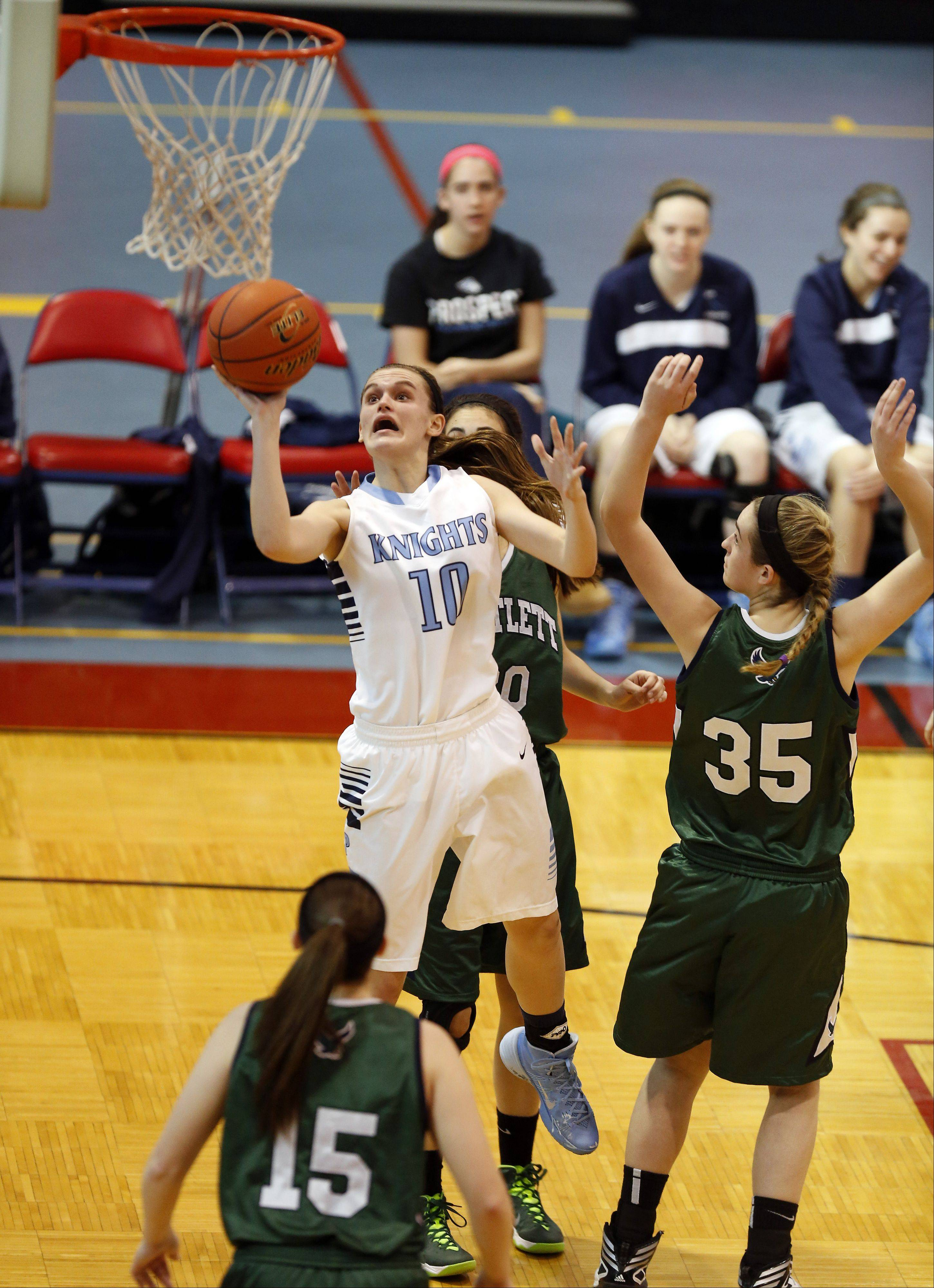 Images from the Bartlett vs. Prospect girls basketball game during the 31st Annual Charger Classic Dundee-Crown High School Girls Basketball Tournament Thursday December 26, 2013 in Carpentersville.