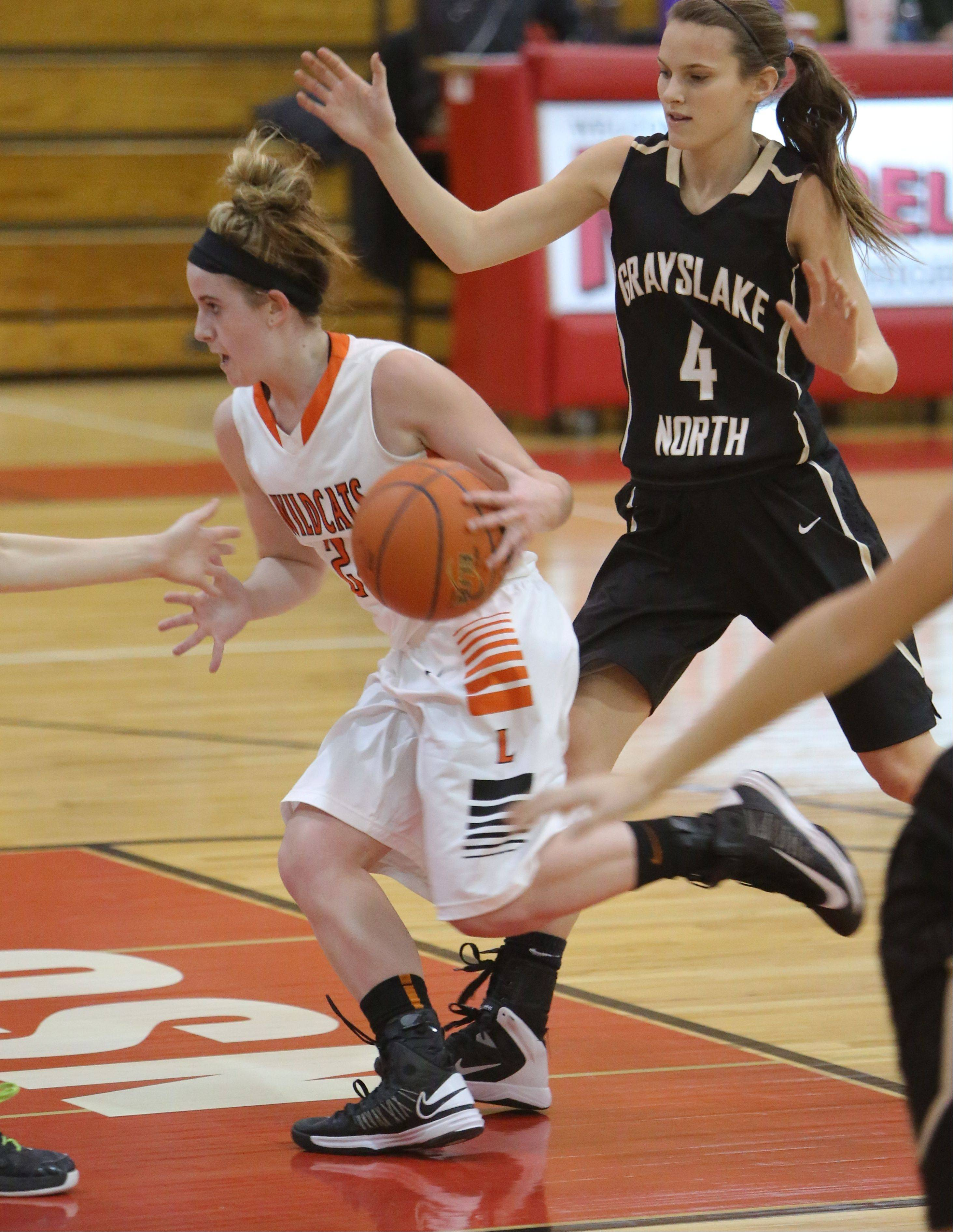 Images from the Libertyville vs. Grayslake North girls basketball in Mundelein on Thursday, Dec. 26.