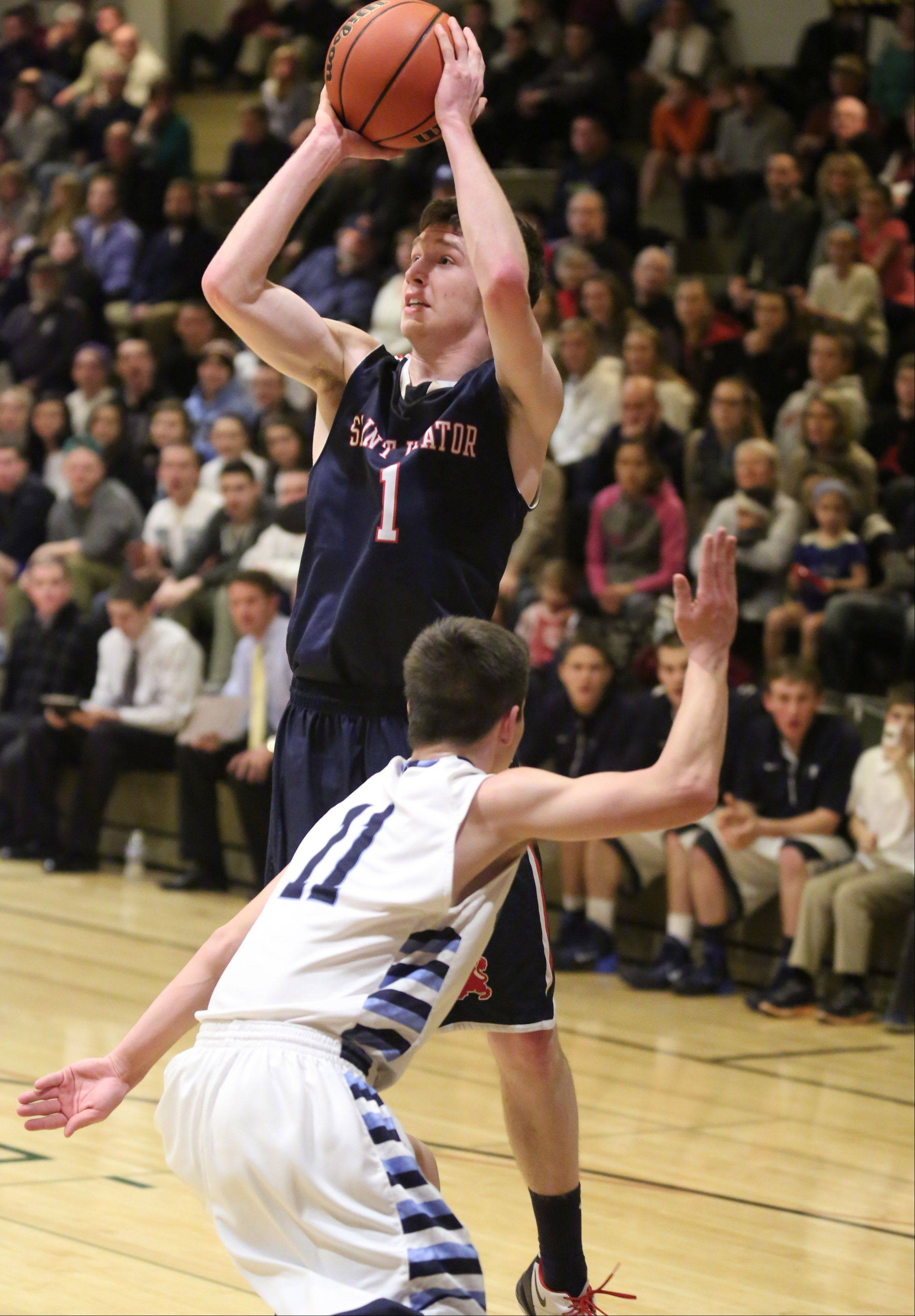 Images from the St. Viator vs. Prospect boys basketball game on Friday, Dec. 27 in Wheeling.