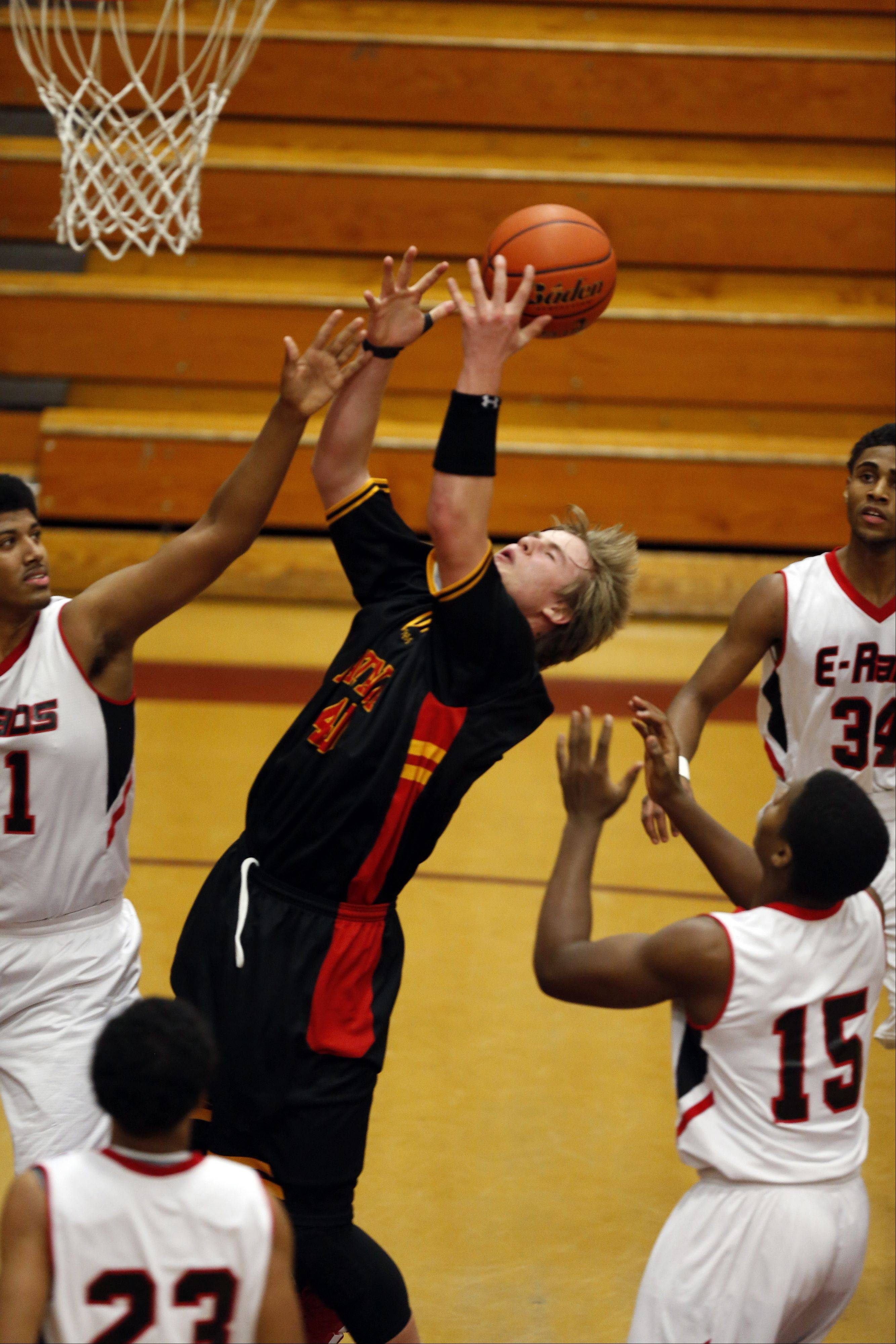 Images from Batavia vs Rockford East at the 39th Annual Elgin Boys Holiday Basketball Tournament at Elgin High School Saturday December 28, 2013.