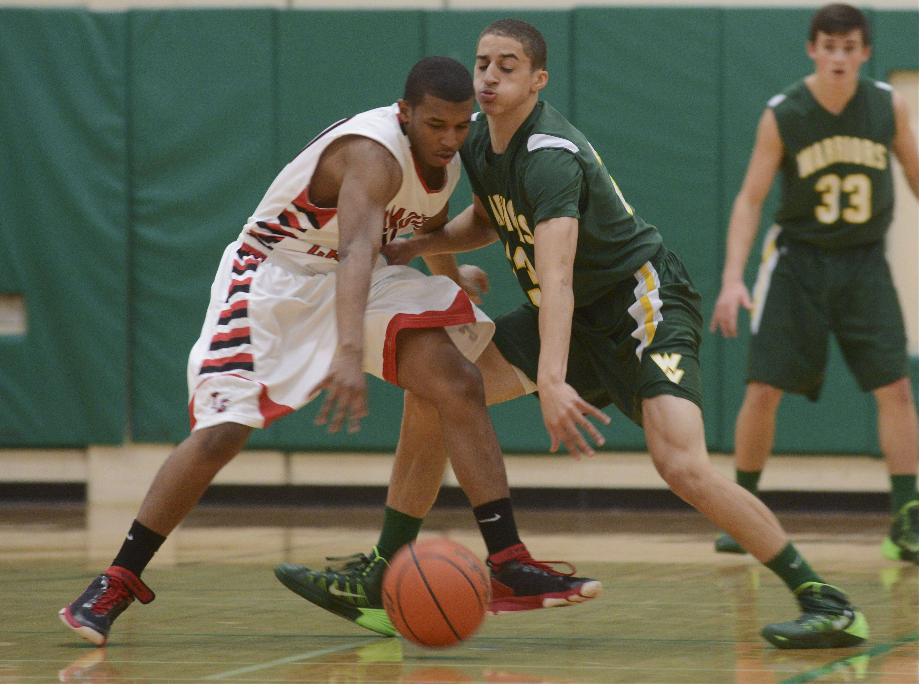 Images: Waubonsie Valley vs. Timothy Christian boys basketball