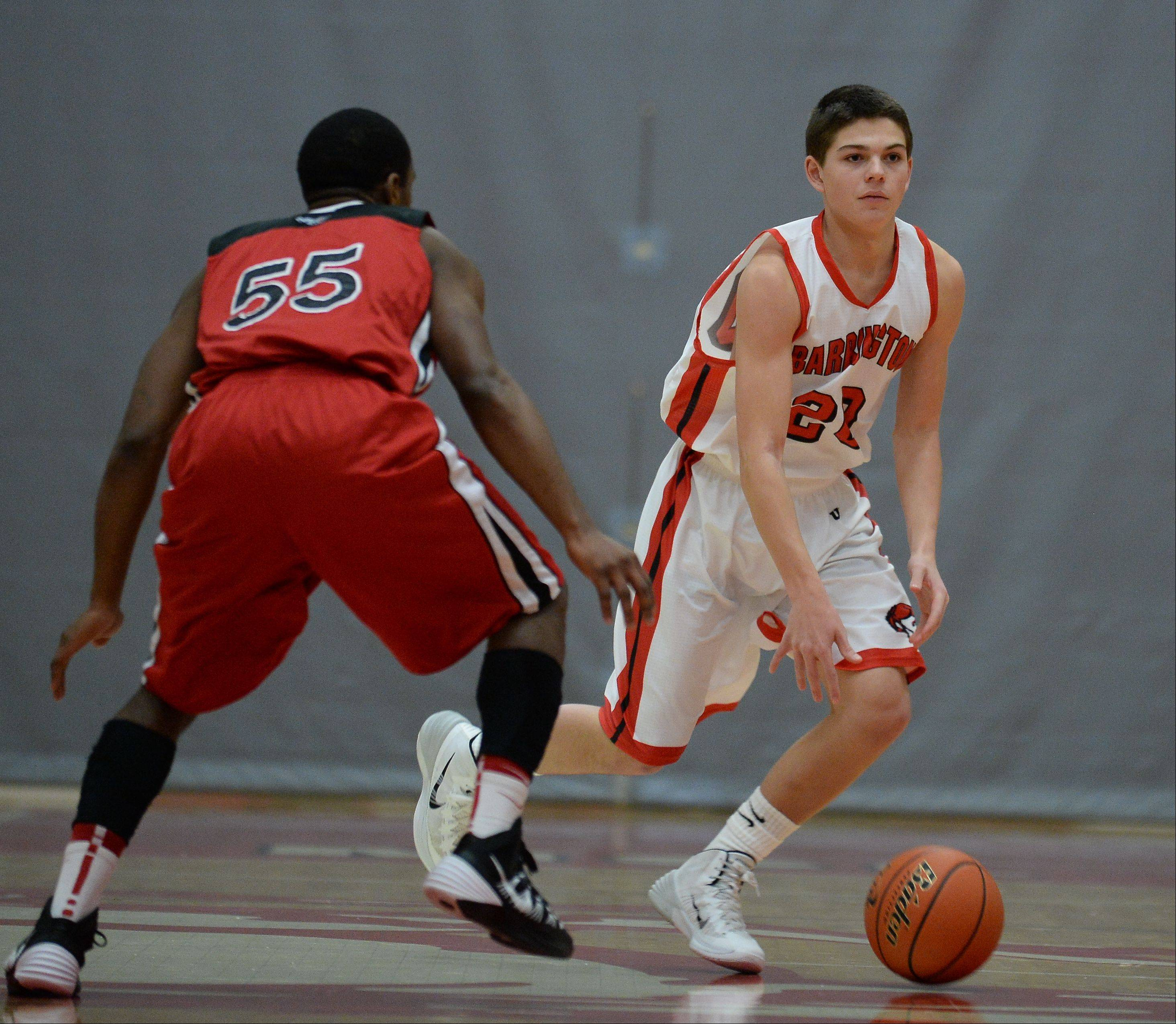 Photos from the Barrington vs. Grant boys basketball game on Friday, January 3rd, in Barrington.