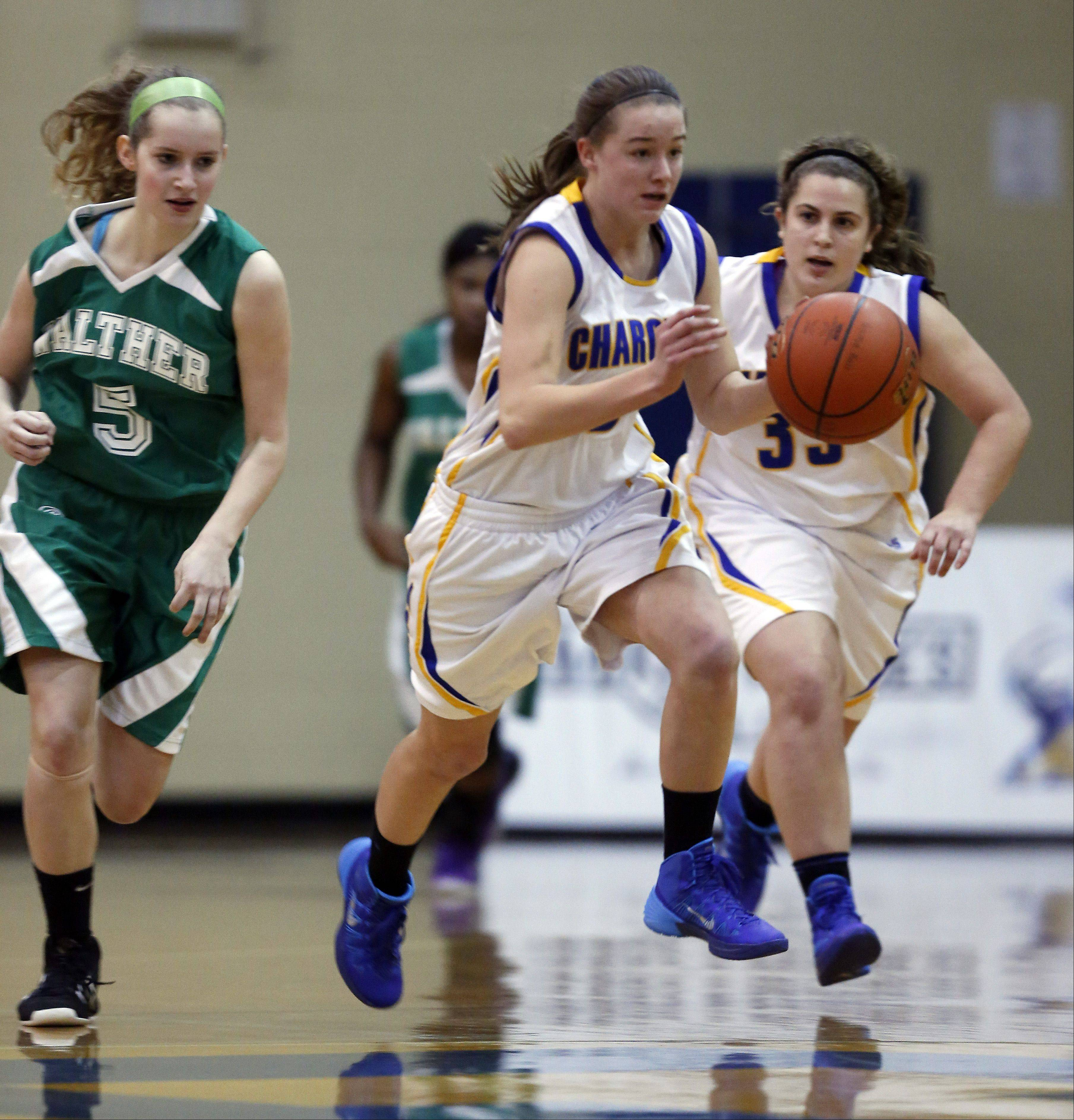 Images from the Walther Christian vs. Aurora Central Catholic girls basketball game Friday, January 3, 2014.