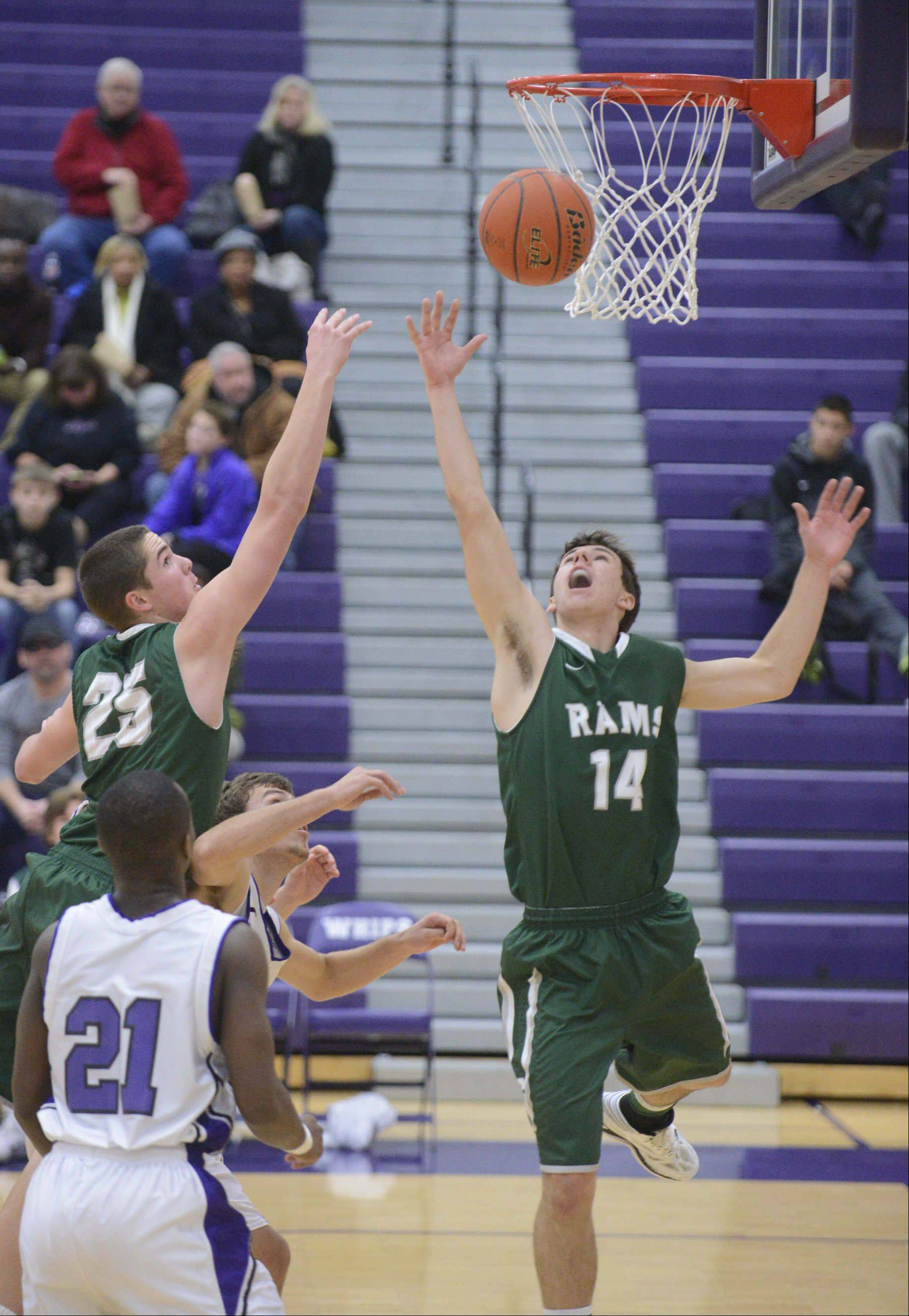 Images from the Grayslake Central vs. Hampshire boys basketball game Saturday, January 4, 2014.