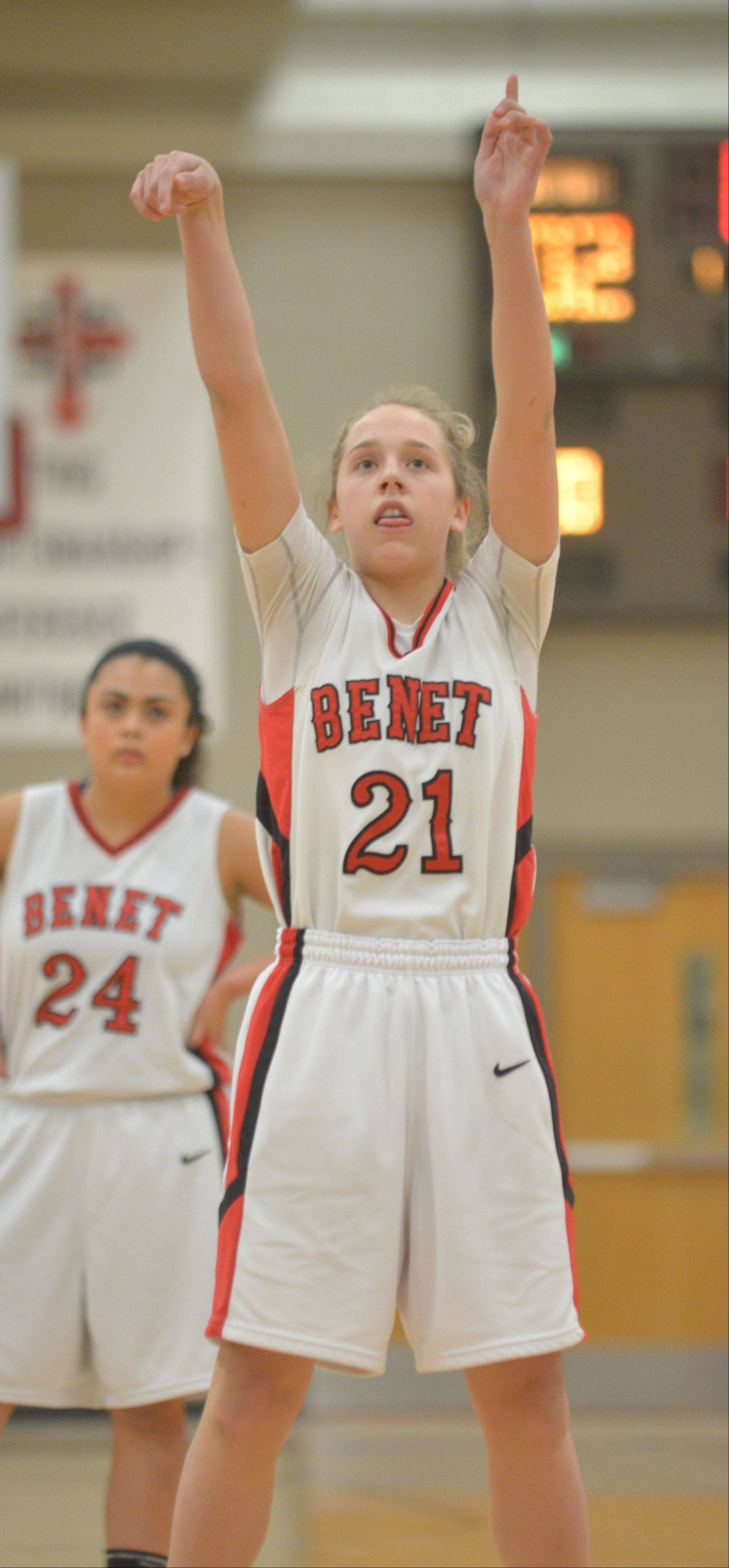 Photos from the Joliet Catholic at Benet Academy girls basketball game Wednesday, Jan. 8.