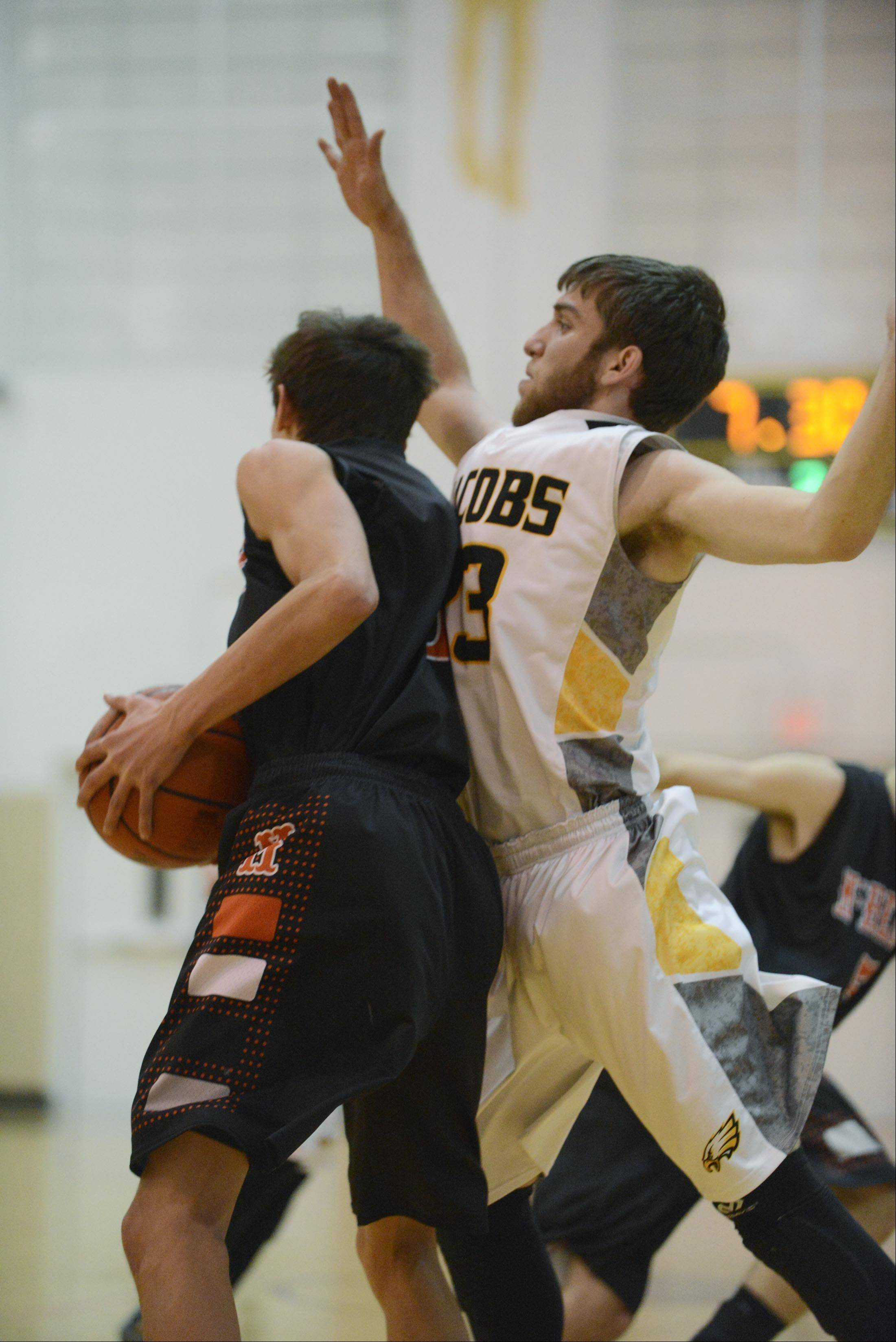 Images from the McHenry vs. Jacobs boys basketball game Wednesday, January 8, 2014.