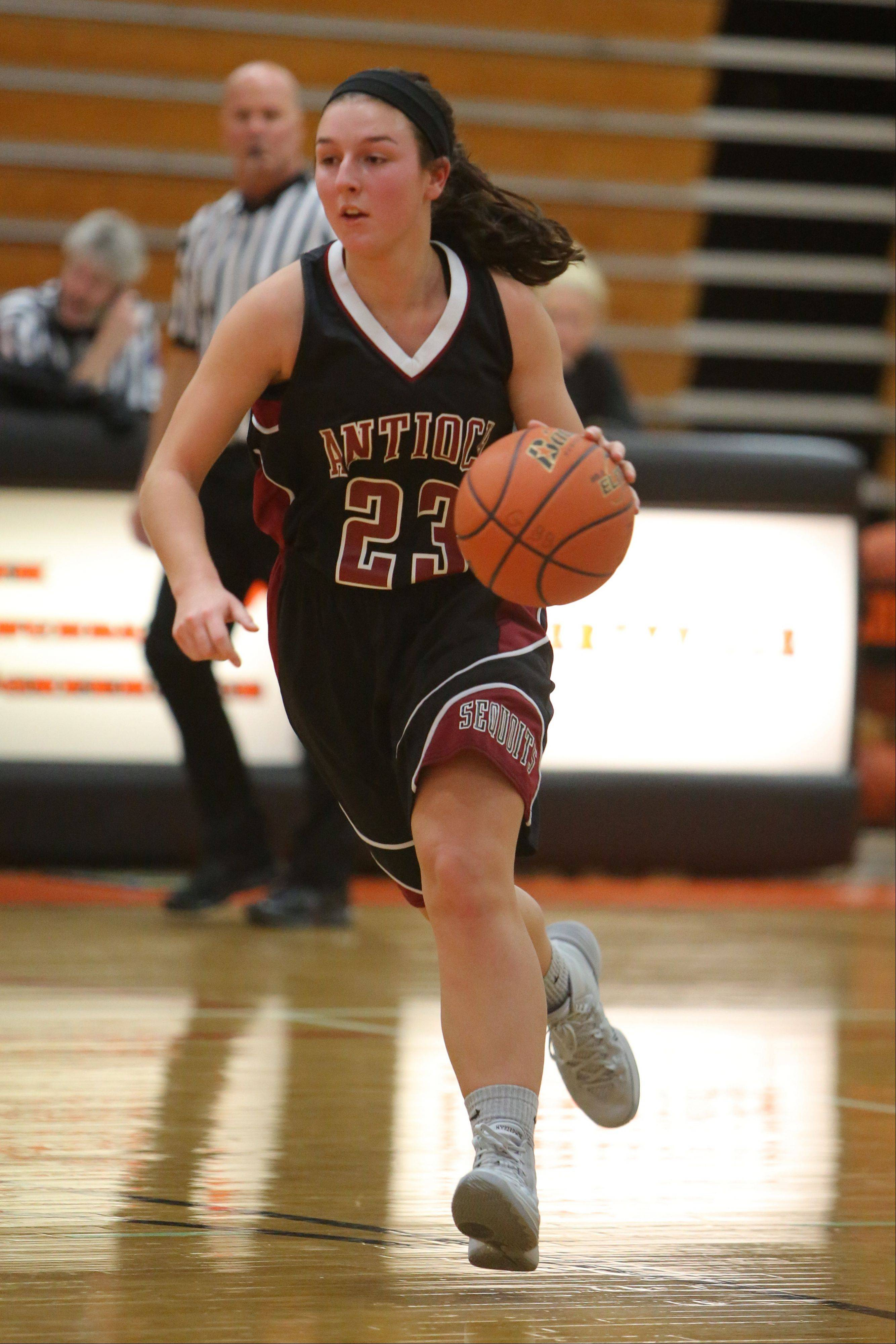 Images from the Antioch at Libertyville girls basketball game on Wednesday, January 8.