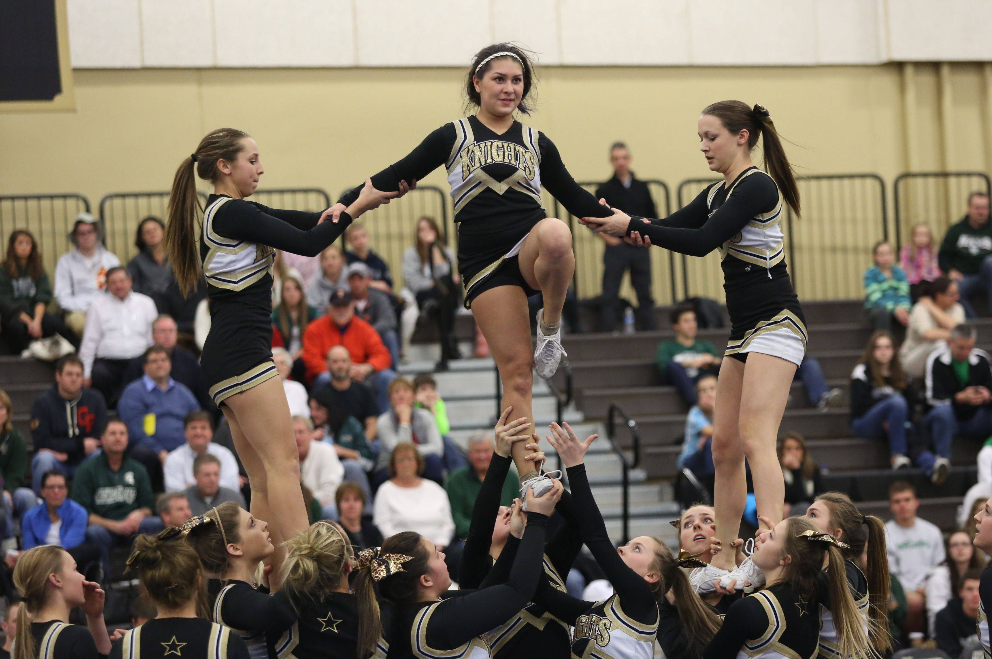 Images from the Grayslake Central at Grayslake North girls basketball game on Thursday, January 9.